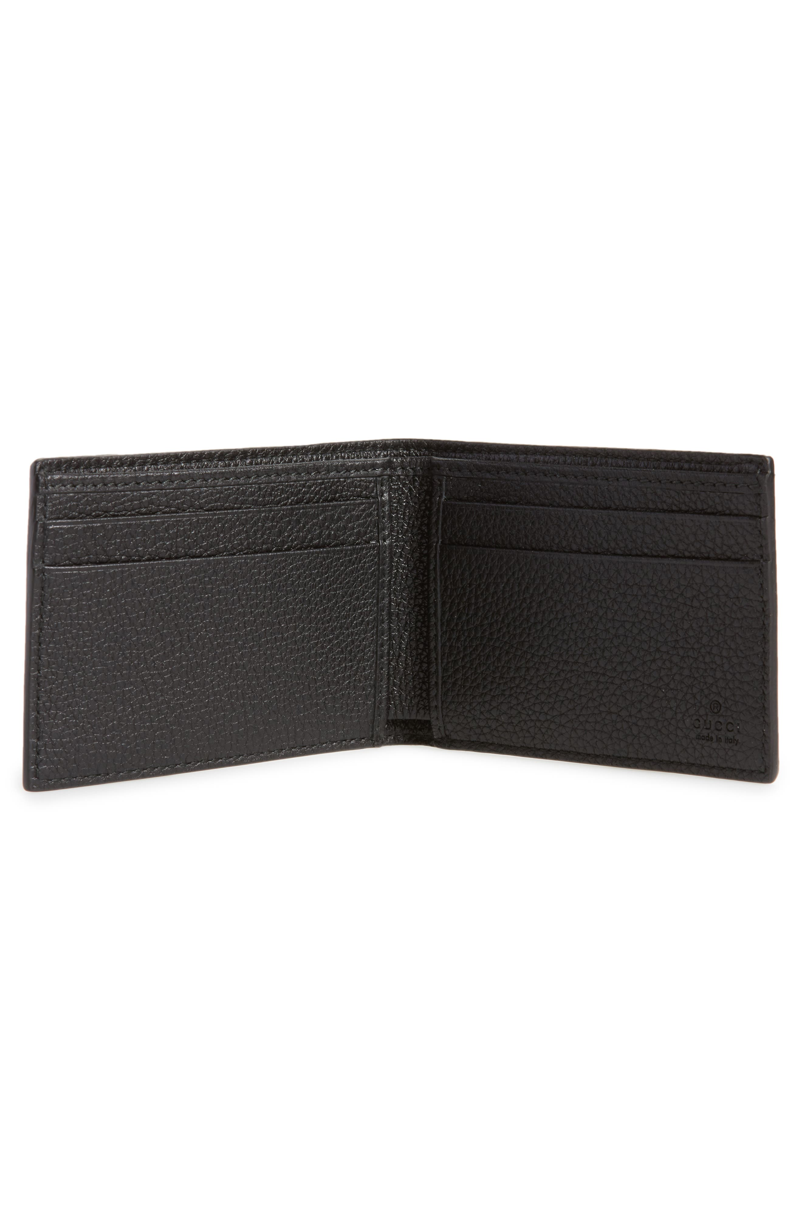 Bifold Wallet,                             Alternate thumbnail 2, color,                             Black