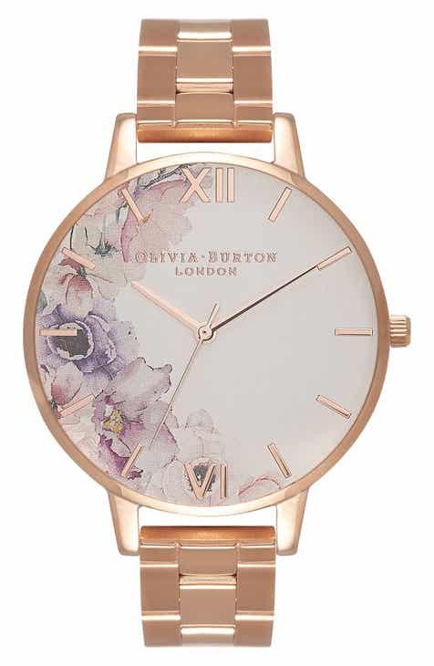 c1be9df6c97a Olivia Burton Watercolour Florals Bracelet Watch