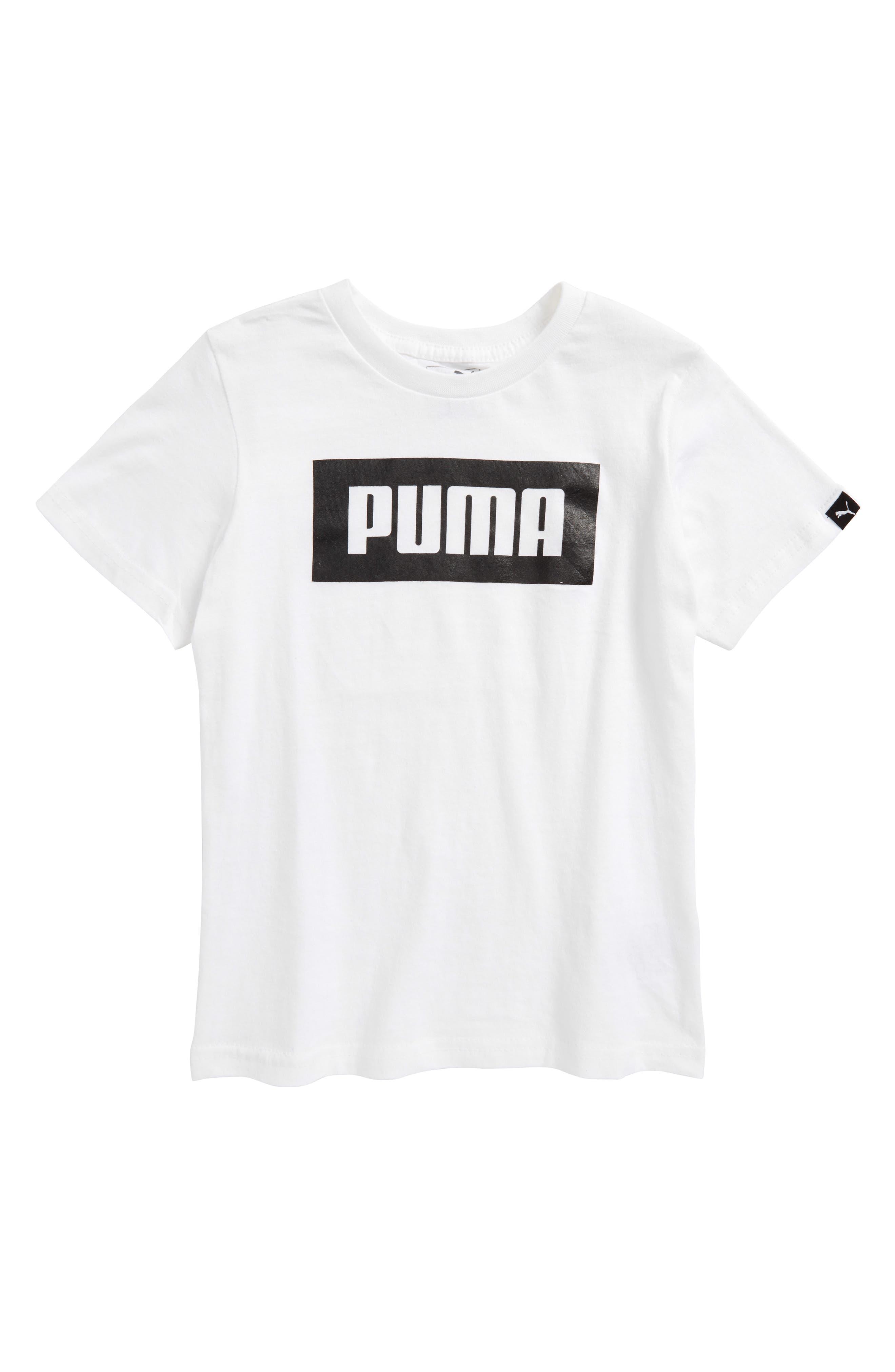 PUMA Rebel Graphic T-Shirt (Little Boys)