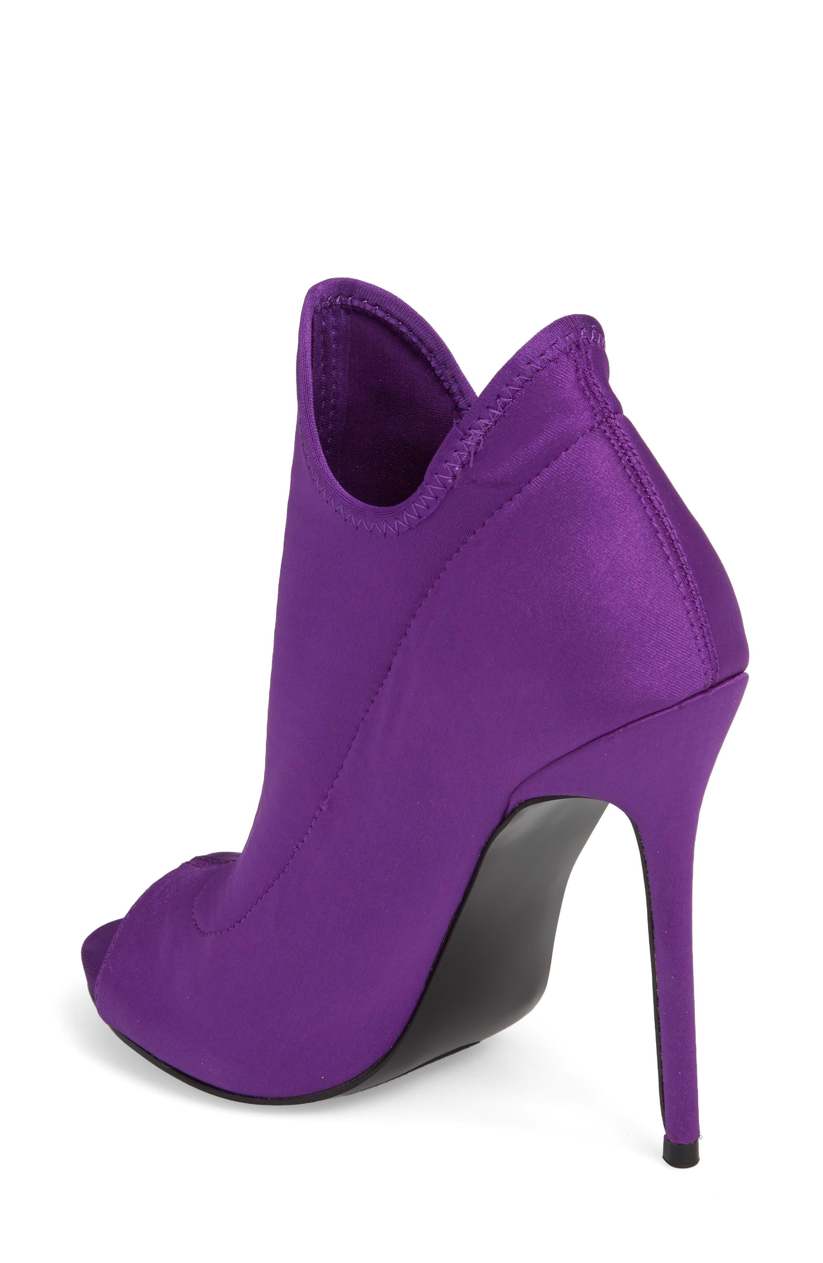 Secure Sock Bootie,                             Alternate thumbnail 2, color,                             Purple