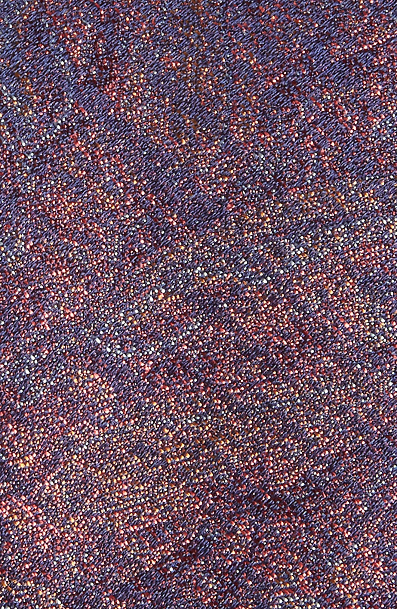 Alexander Paisley Silk Tie,                             Alternate thumbnail 2, color,                             Cognac