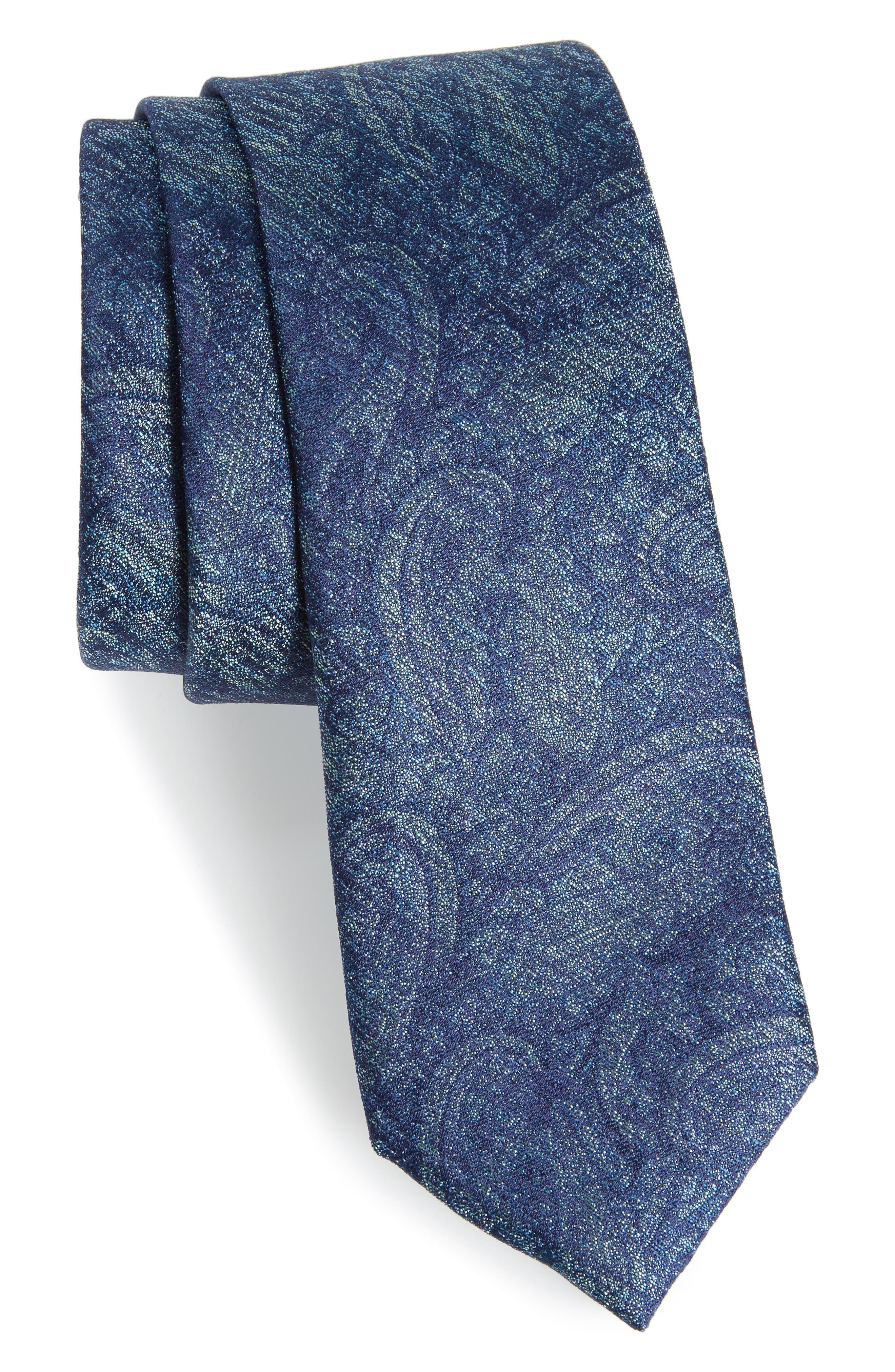 Main Image - Calibrate Alexander Paisley Silk Tie