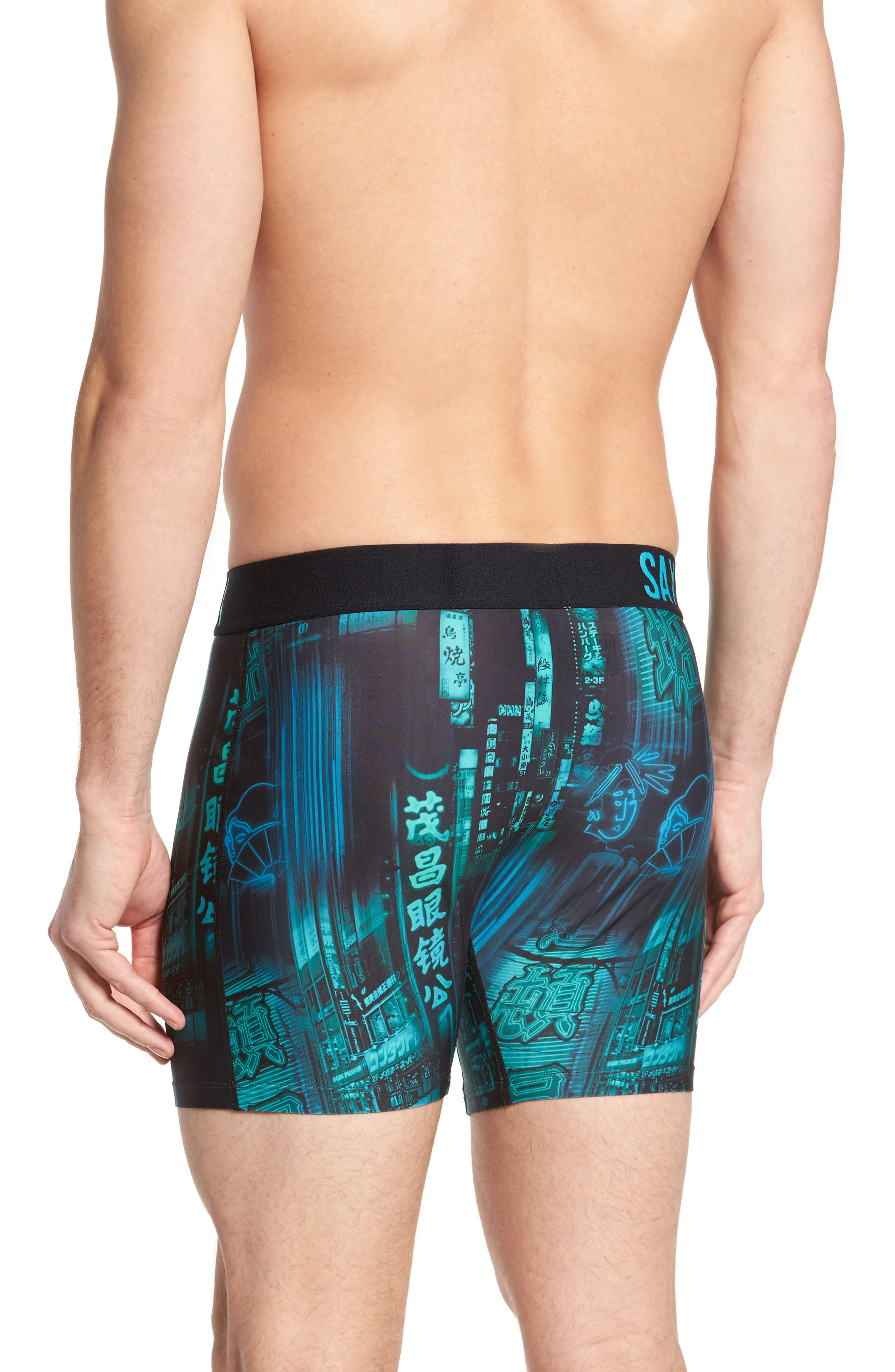 Fuse Neon Signs Boxer Briefs,                             Alternate thumbnail 2, color,                             Blade Runner