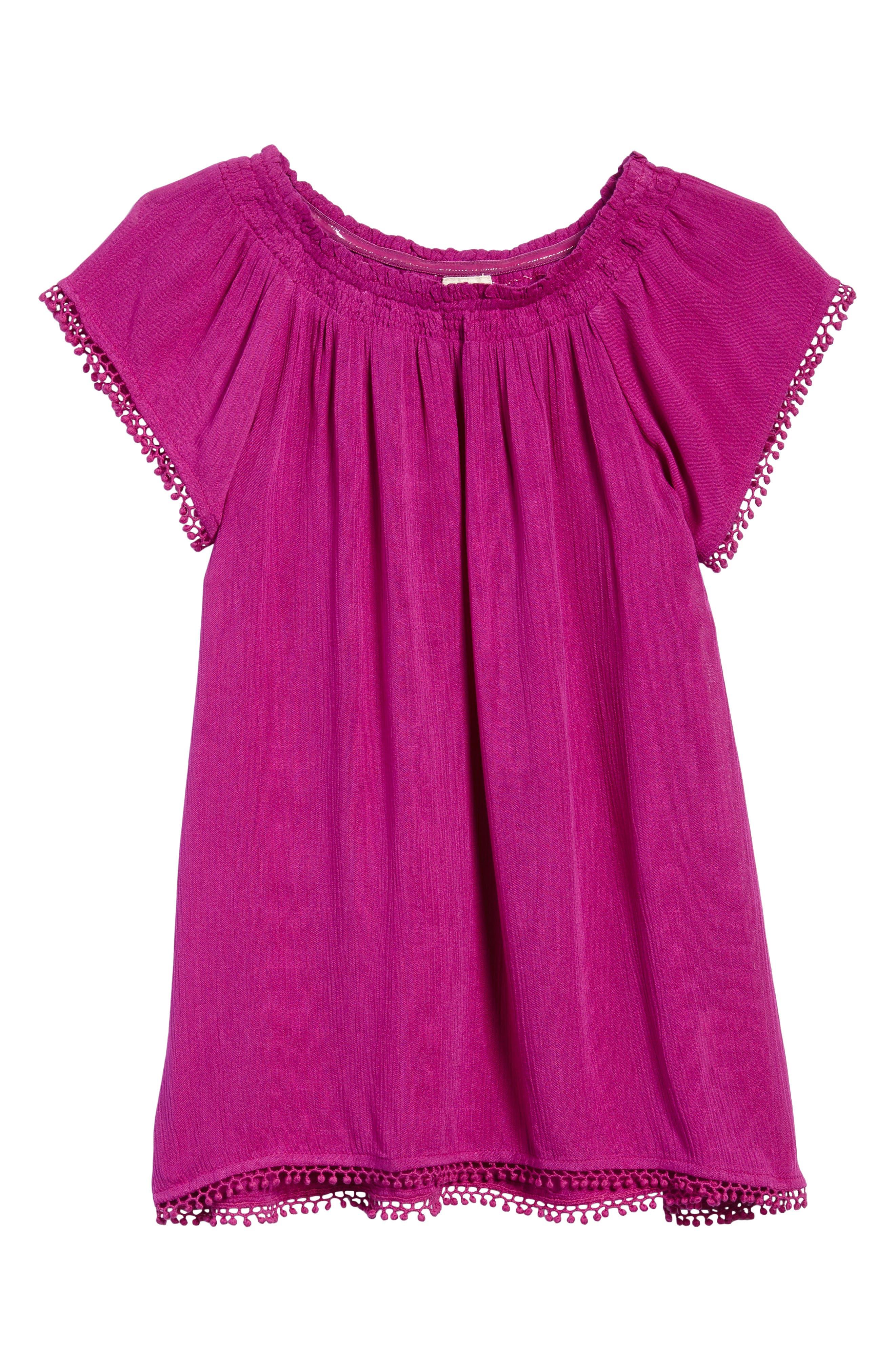 Avery Woven Dress,                             Main thumbnail 1, color,                             Boysenberry