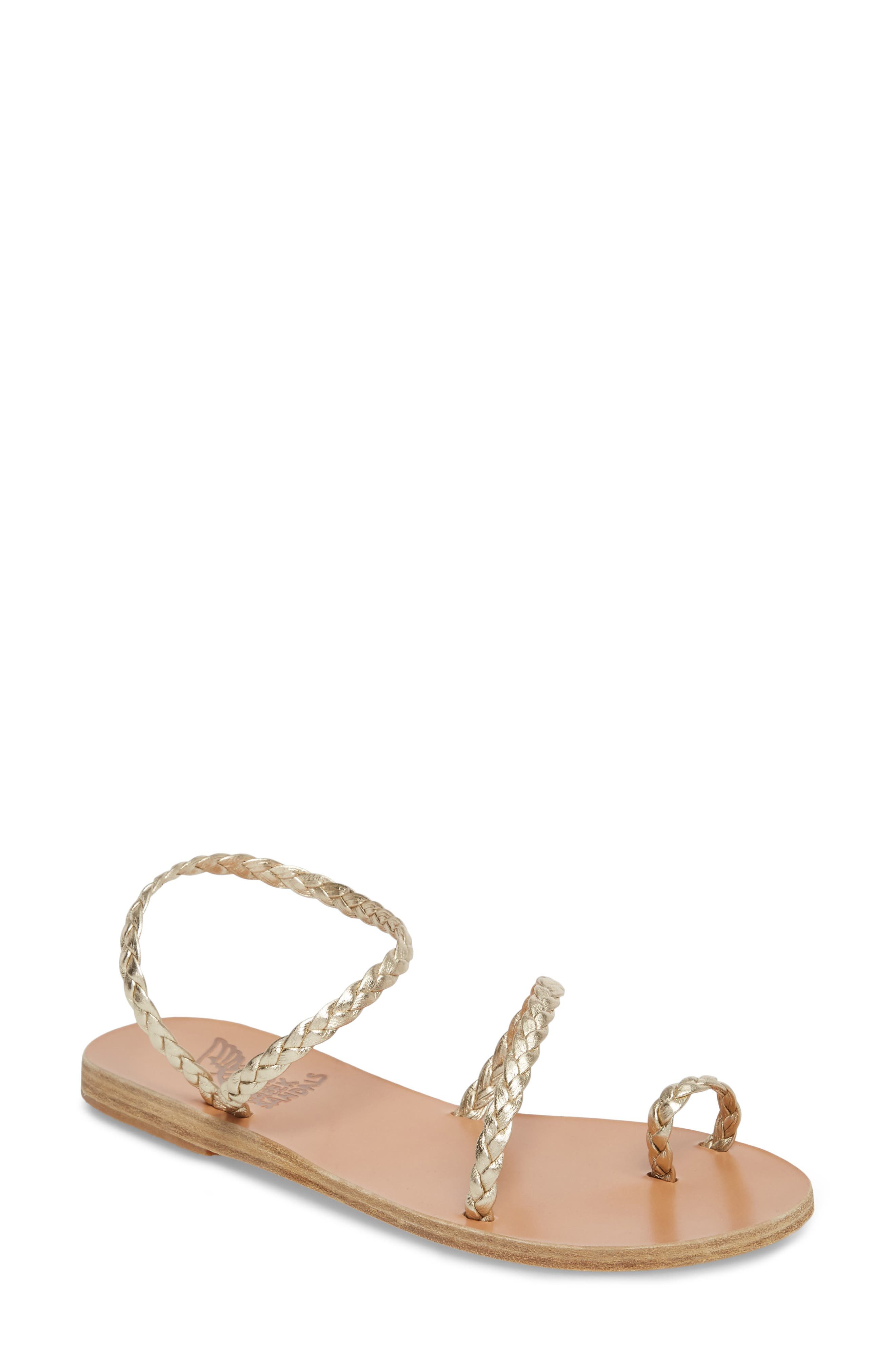 Eleftheria Sandal,                         Main,                         color, Platinum