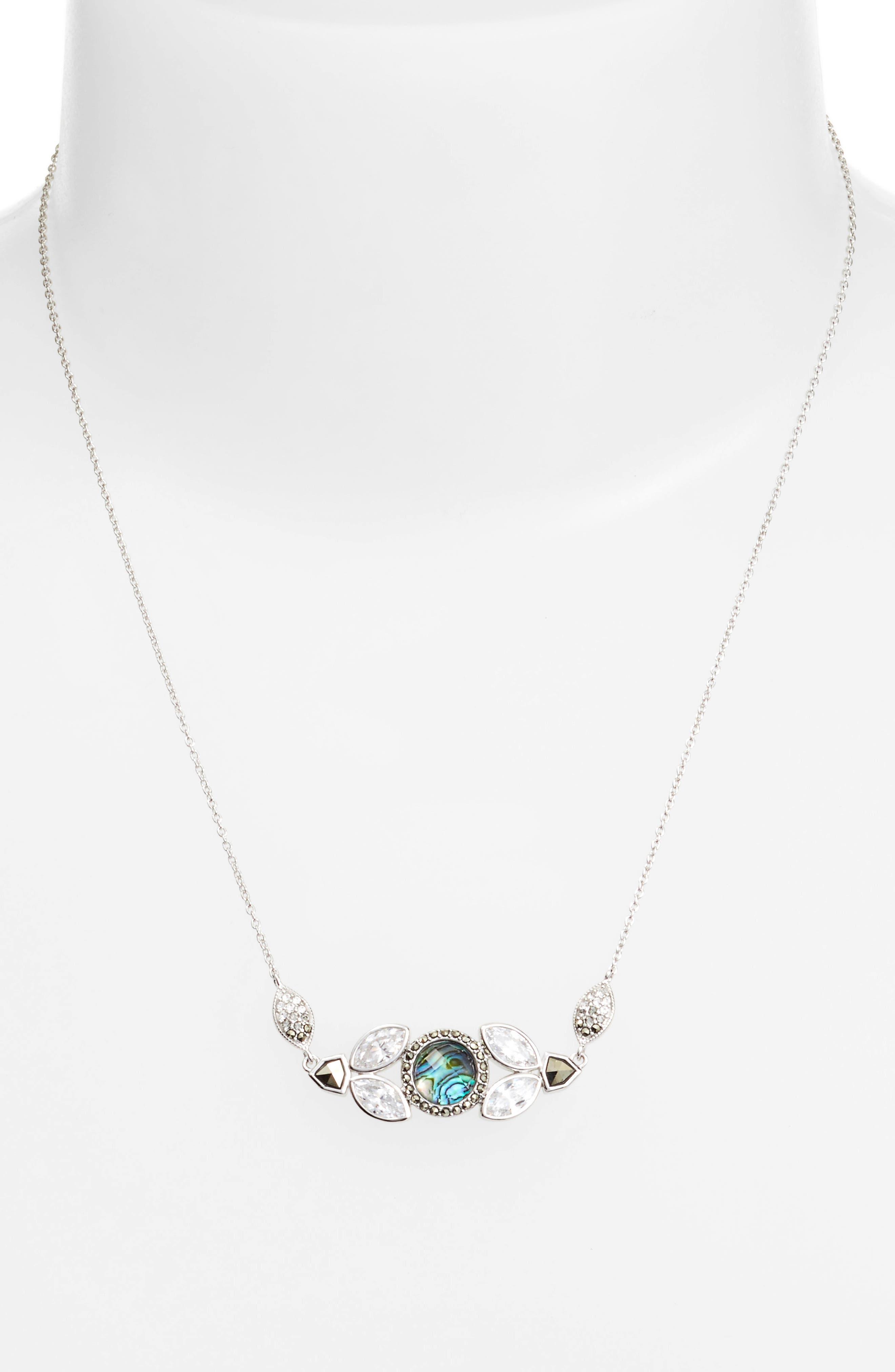 Alternate Image 2  - Judith Jack Crystal Pendant Necklace