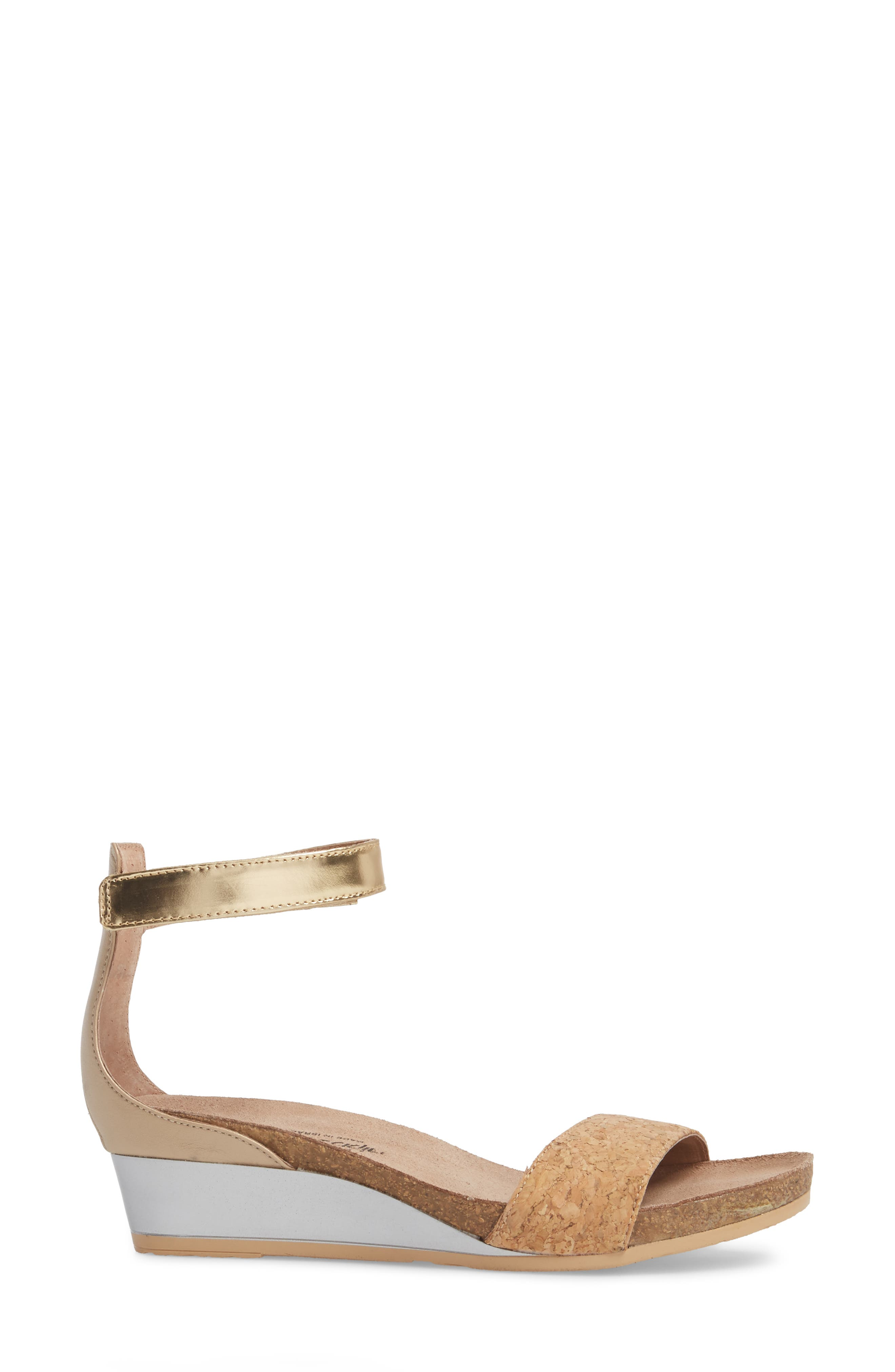 'Pixie' Sandal,                             Alternate thumbnail 2, color,                             Cork Leather