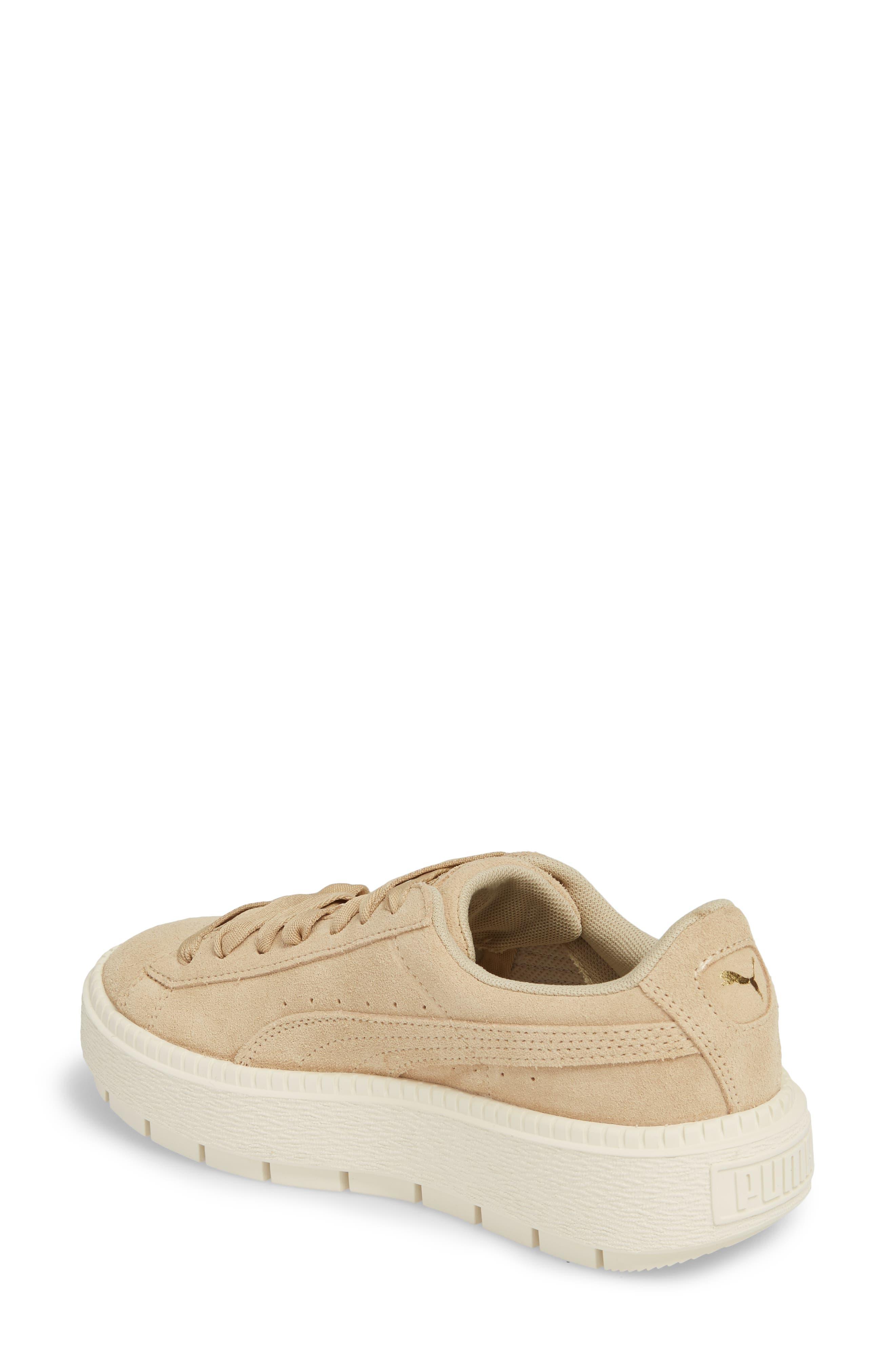 Platform Trace Sneaker,                             Alternate thumbnail 2, color,                             Safari-Marshamallow