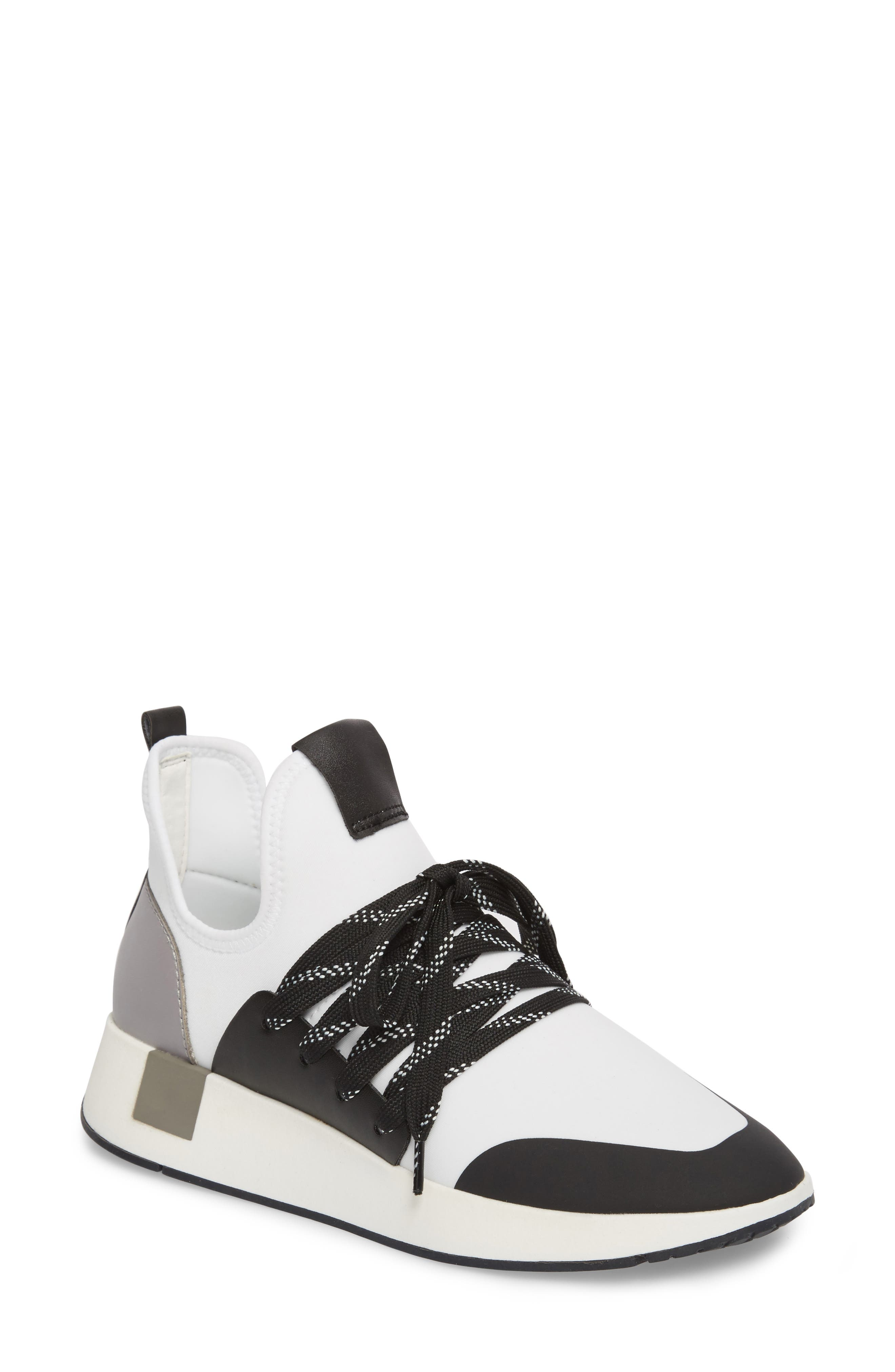Shady Sneaker,                         Main,                         color, White Multi