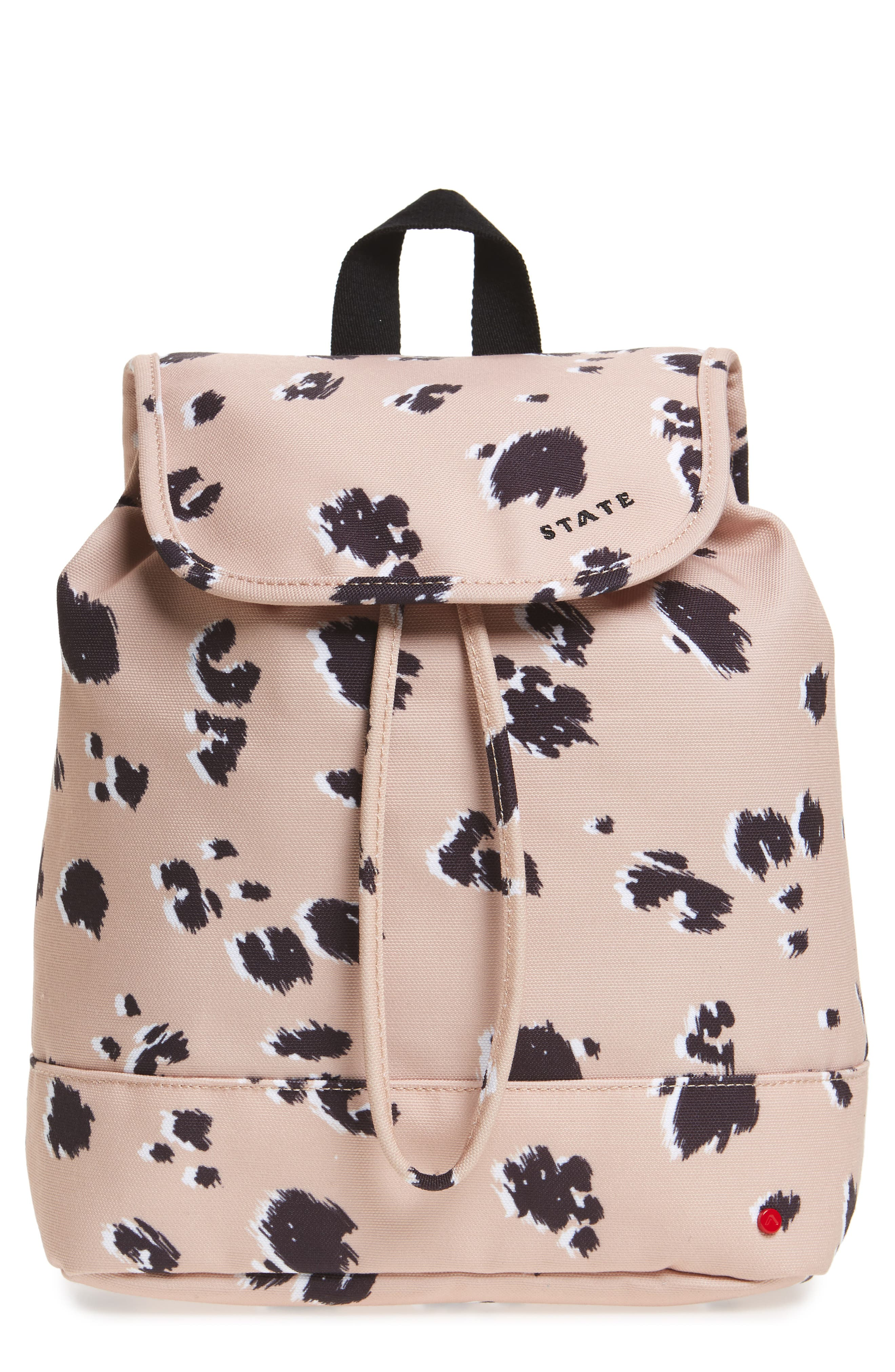 Wingate Hattie Canvas Backpack,                             Main thumbnail 1, color,                             Natural Animal