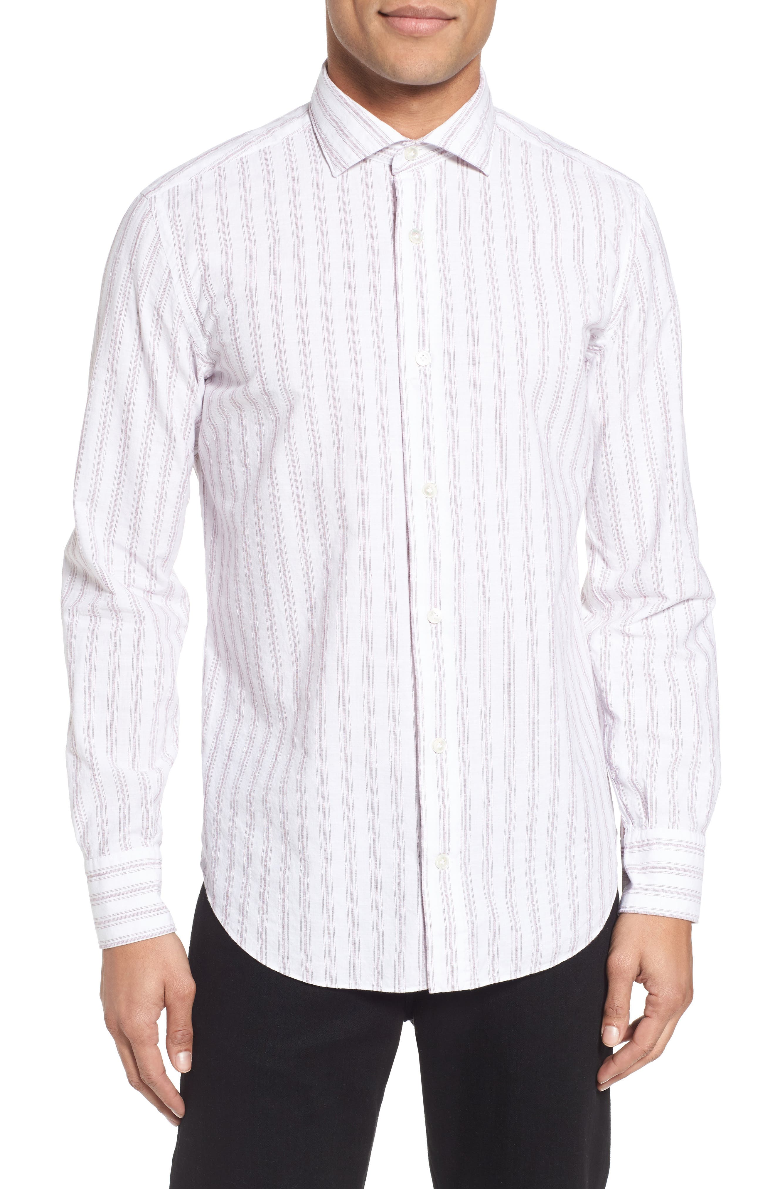 Billy Reid John T Slim Fit Sport Shirt