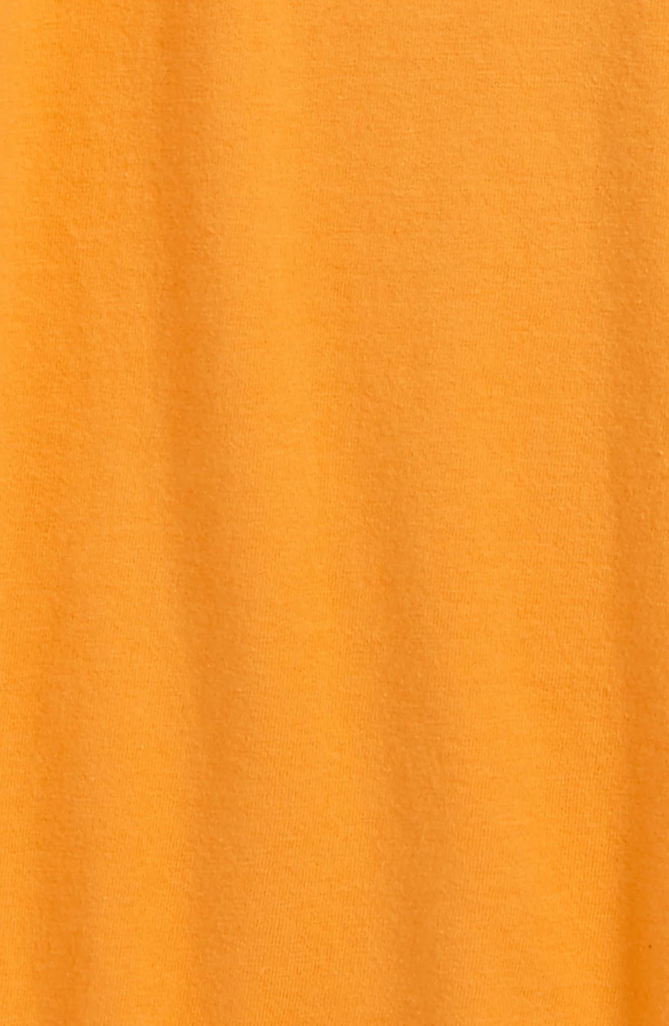 Alternate Image 2  - Burt's Bees Baby V-Neck Organic Cotton T-Shirt (Toddler Boys & Little Boys)