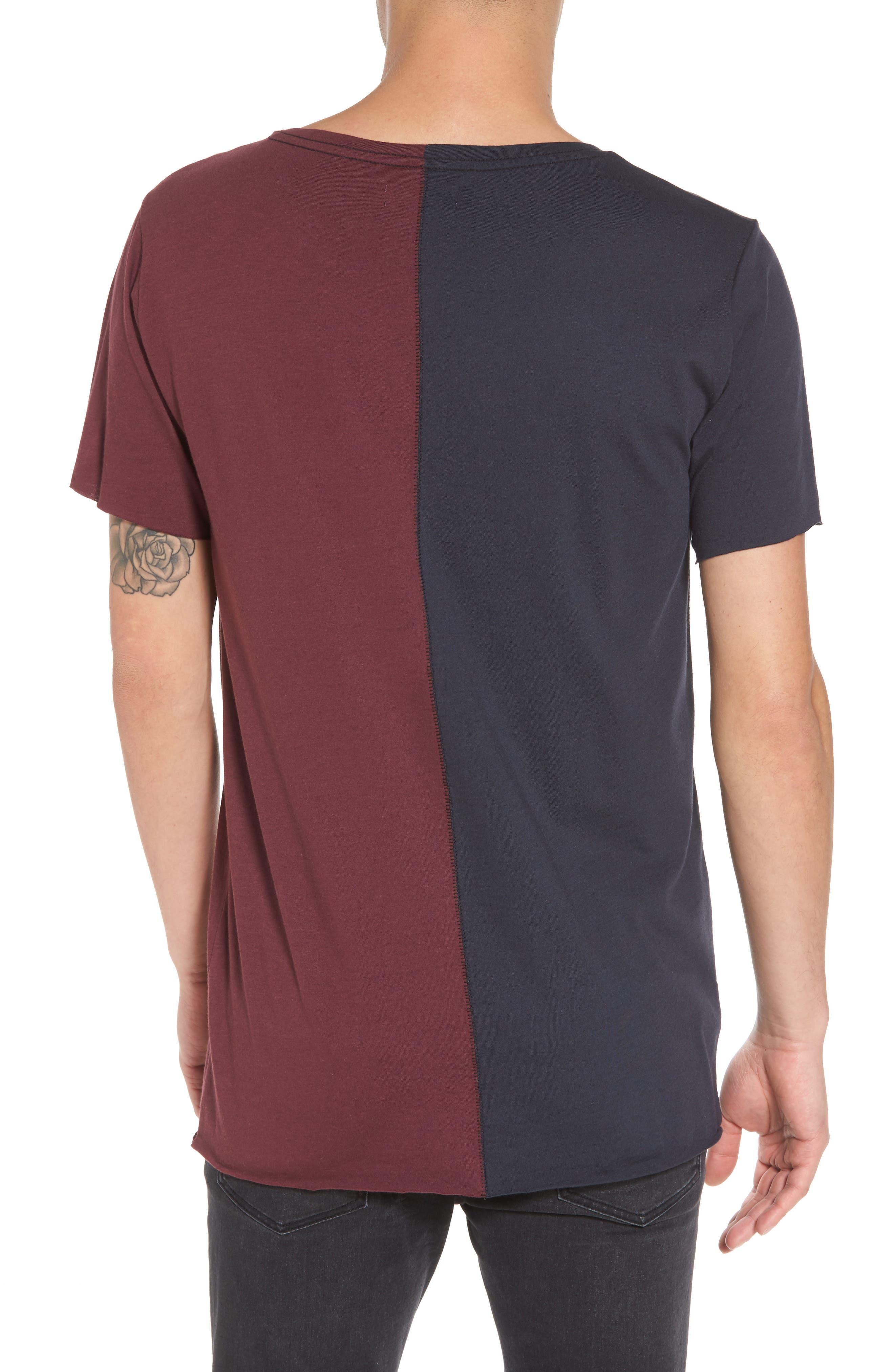 Alternate Image 2  - The Rail Colorblock T-Shirt
