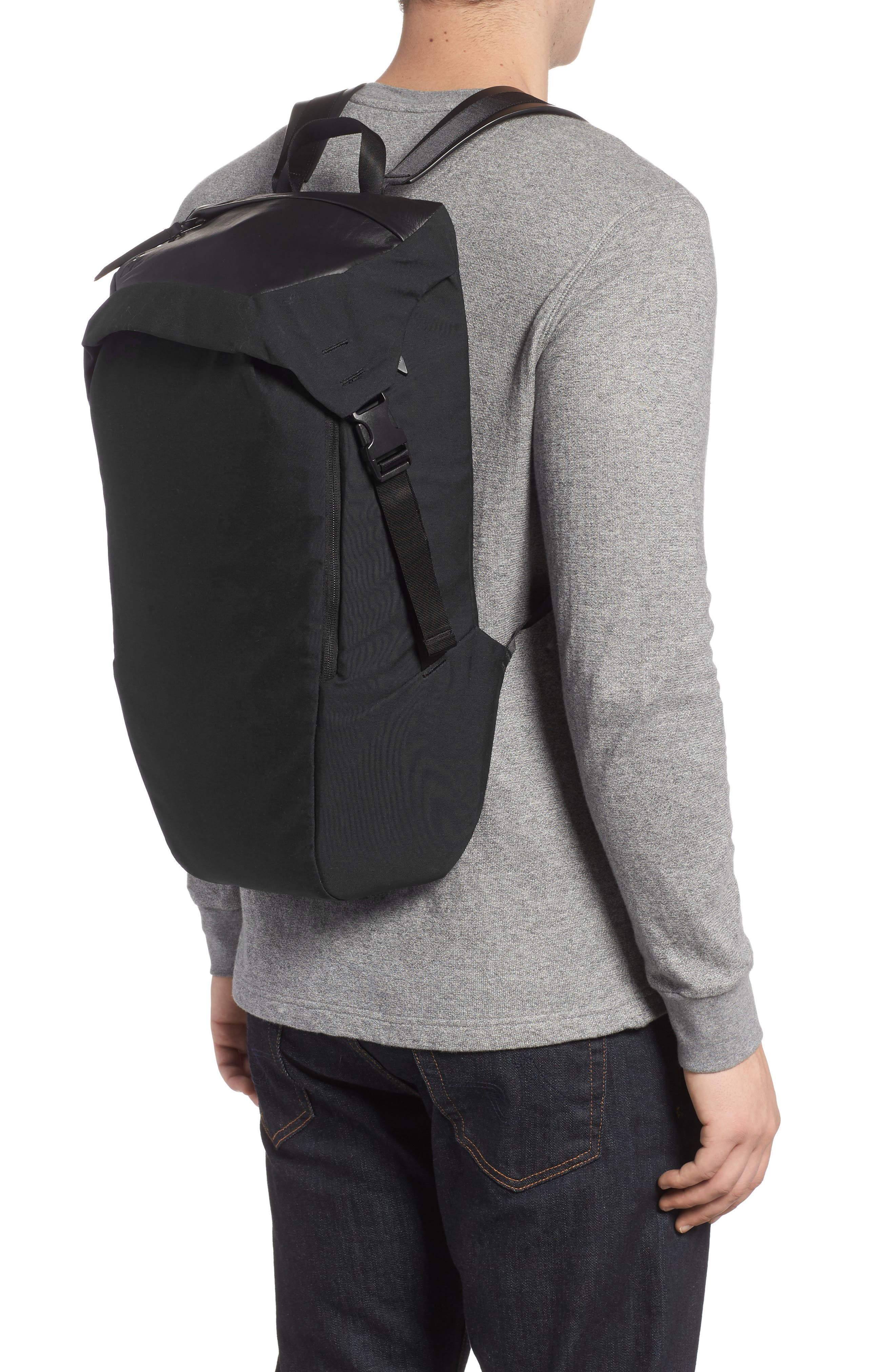 Quick Pack Lux Backpack,                             Alternate thumbnail 2, color,                             Black