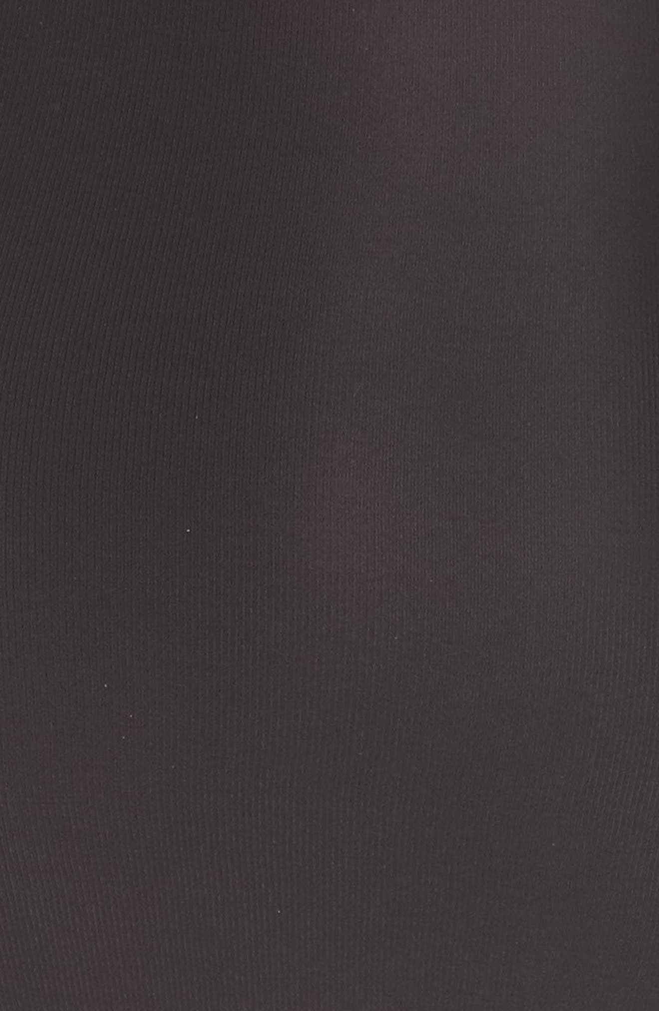 Lite High Waist Shaping Thong,                             Alternate thumbnail 5, color,                             Black