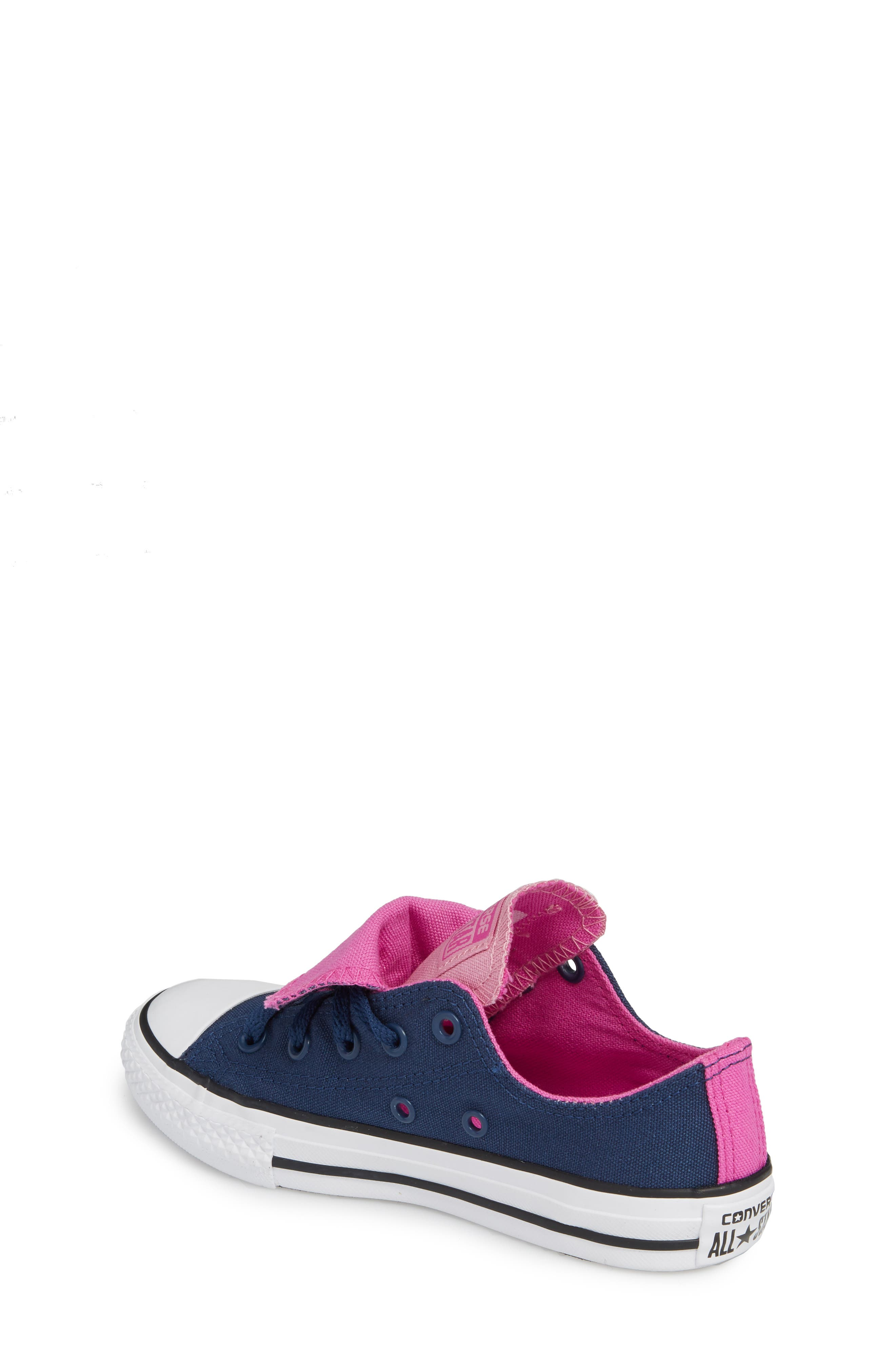 All Star<sup>®</sup> Double Tongue Sneaker,                             Alternate thumbnail 2, color,                             Navy