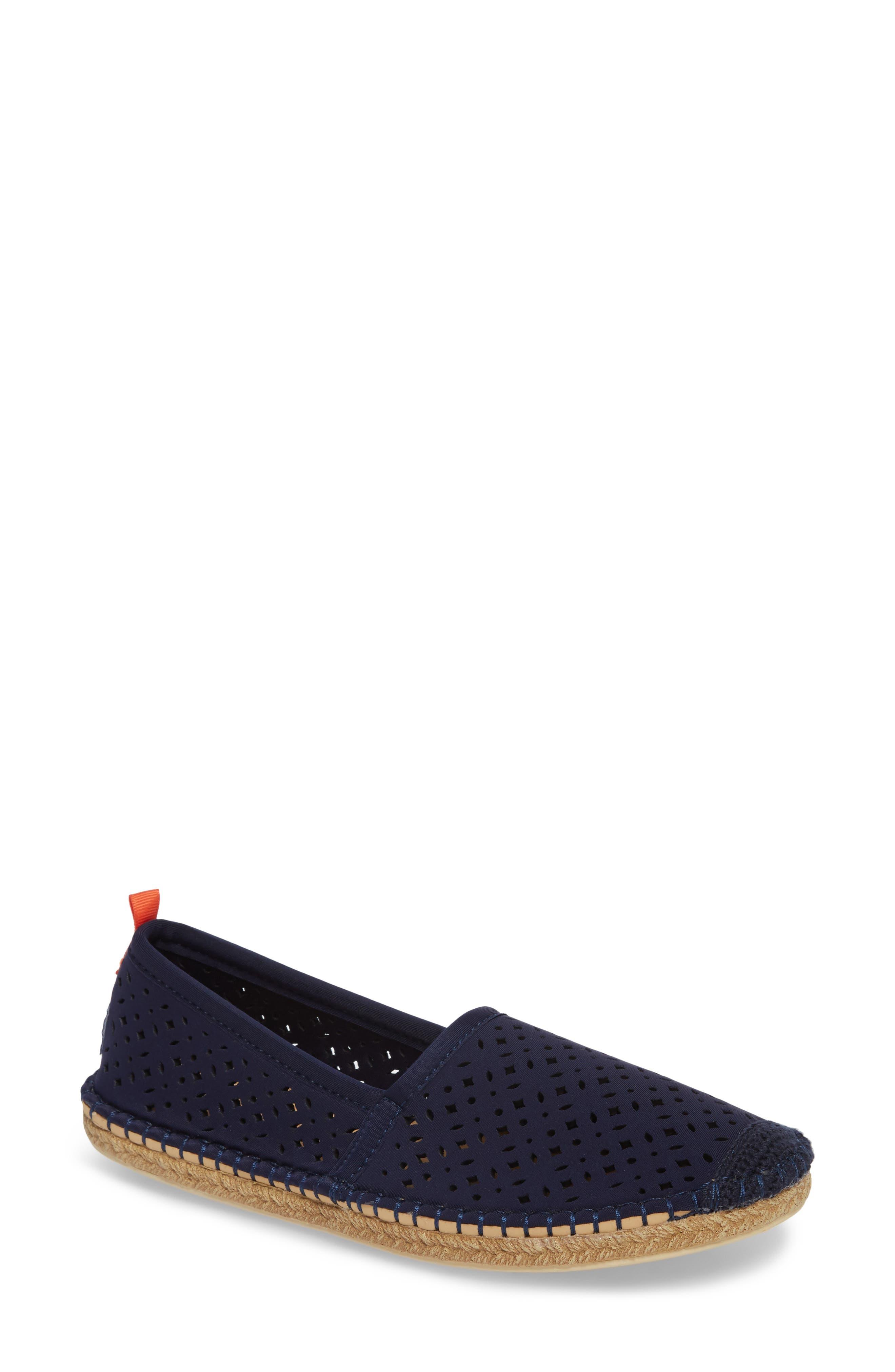 Sea Star Beachcomber Espadrille Sandal,                         Main,                         color, Dark Navy Eyelet