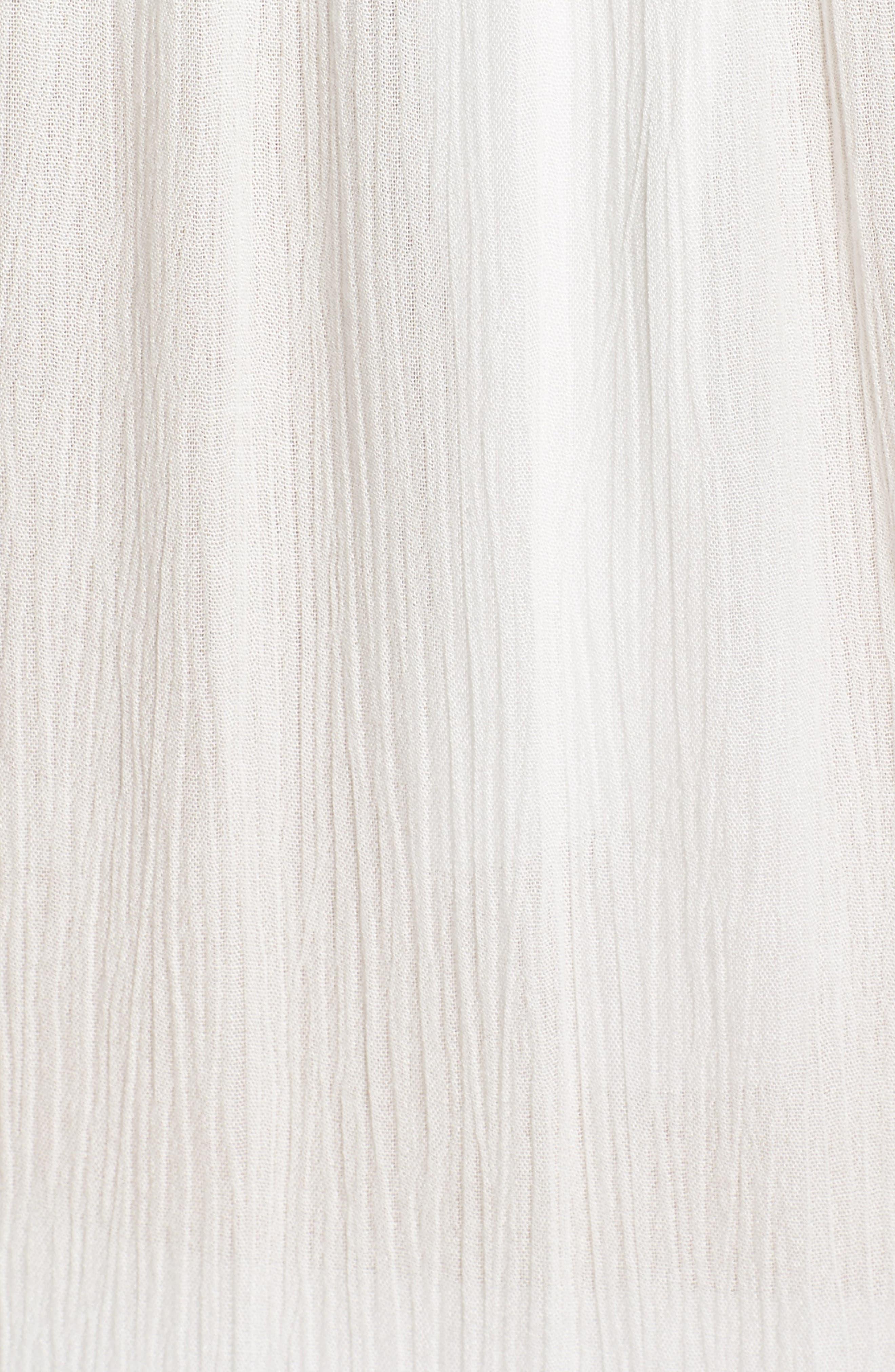 Cover-Up Dress,                             Alternate thumbnail 5, color,                             White