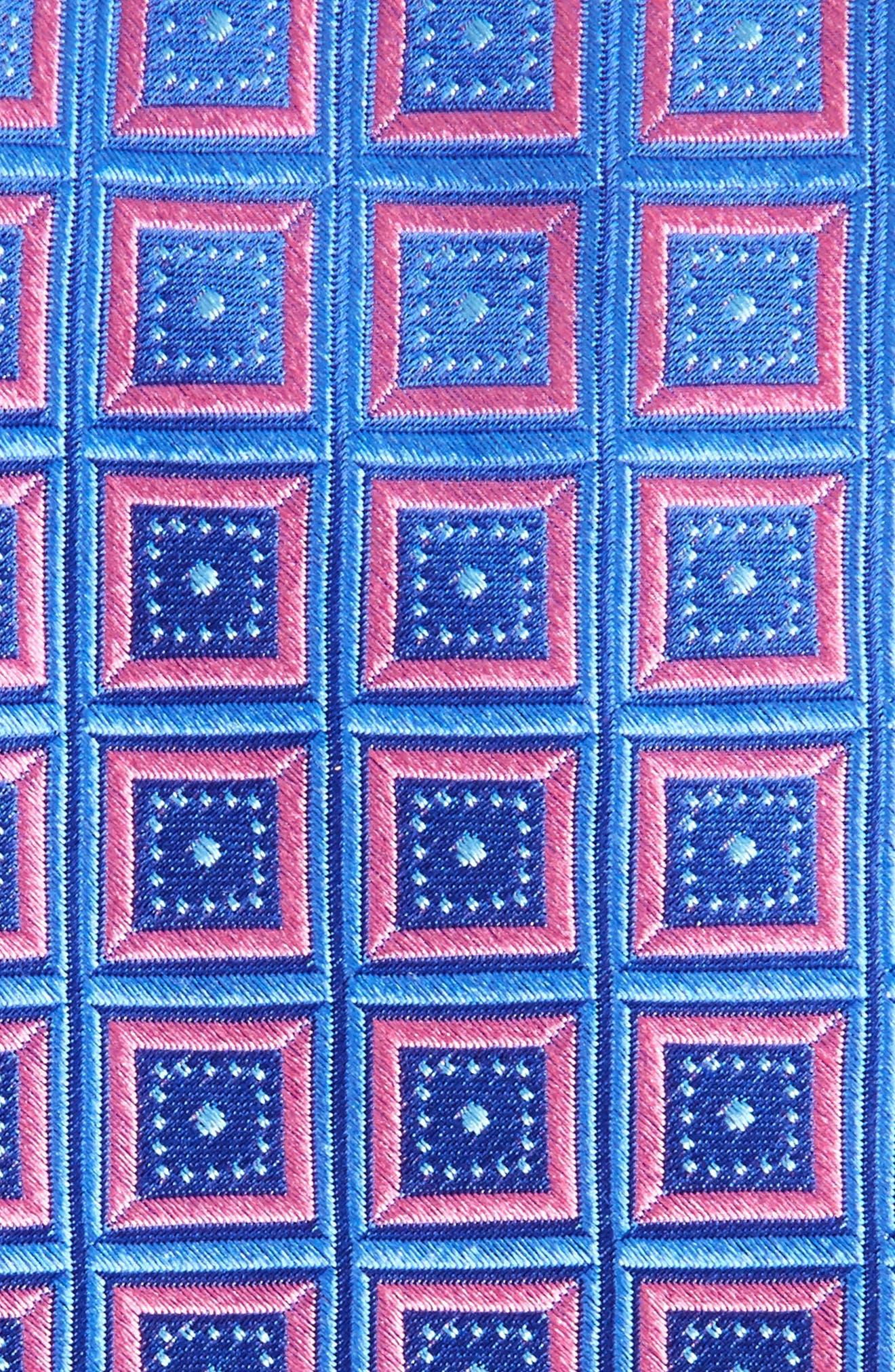 Alternate Image 2  - Nordstrom Men's Shop Sublime Squares Geometric Silk Tie