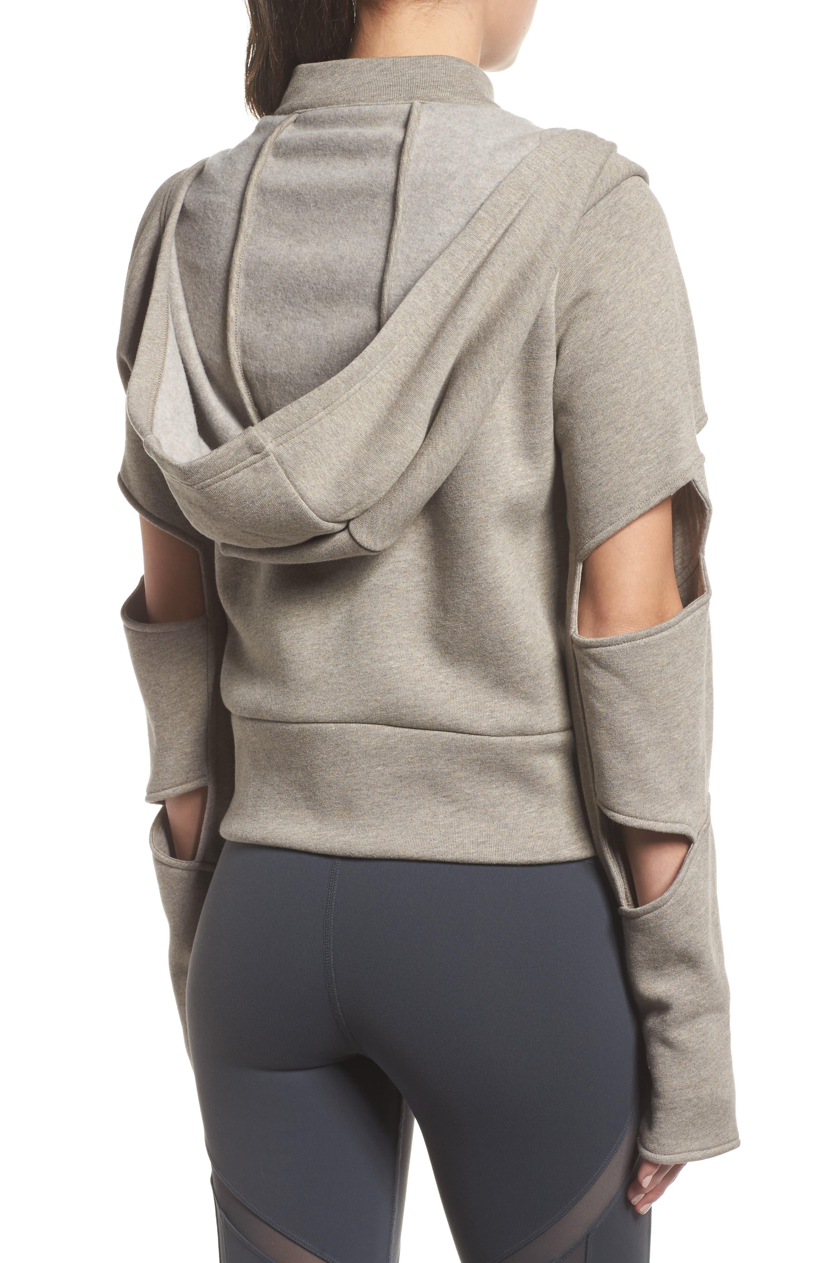 Alternate Image 2  - Alo Mix Hooded Jacket