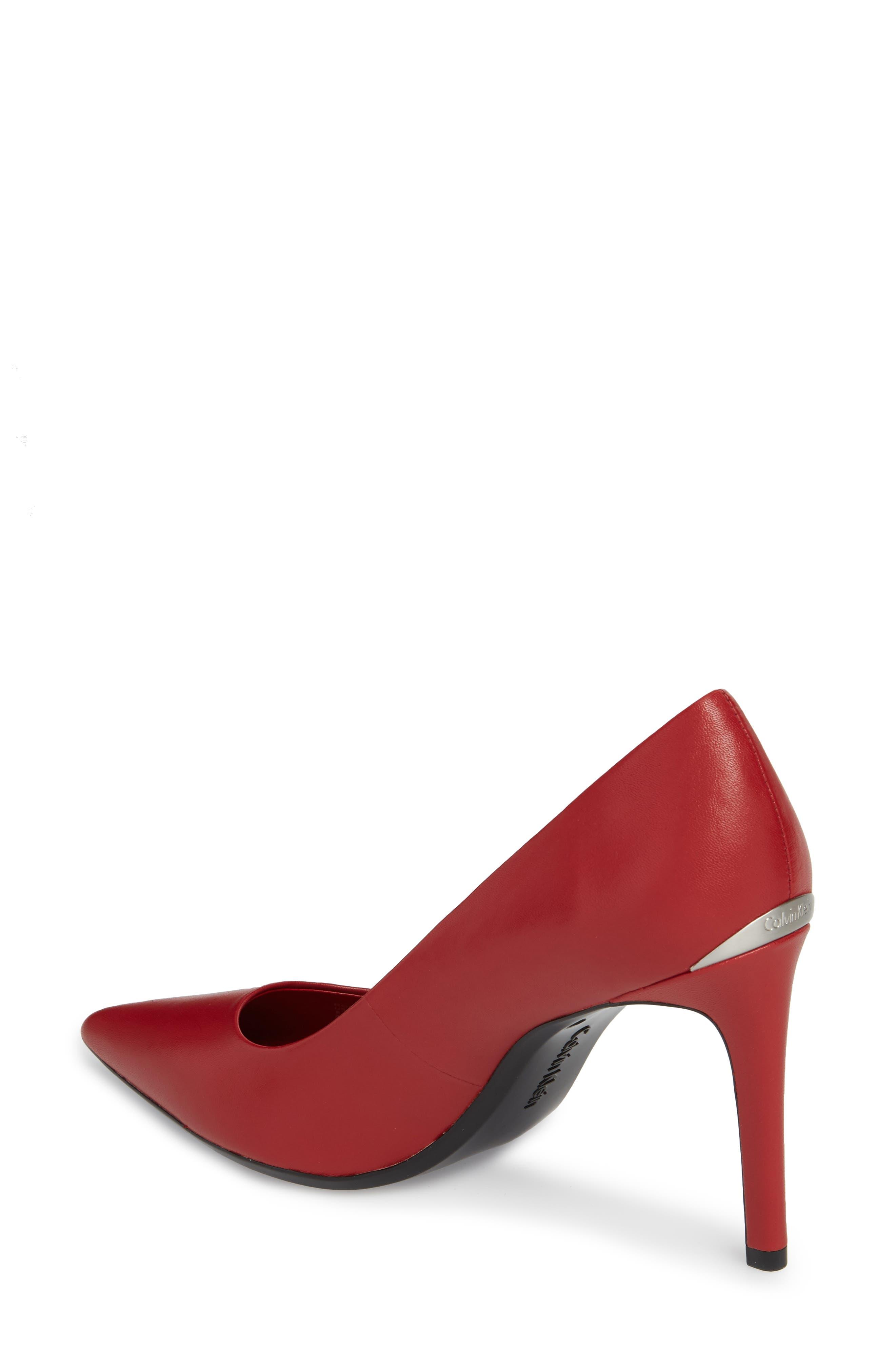 Alternate Image 2  - Calvin Klein Ronna Pointy Toe Pump (Women)