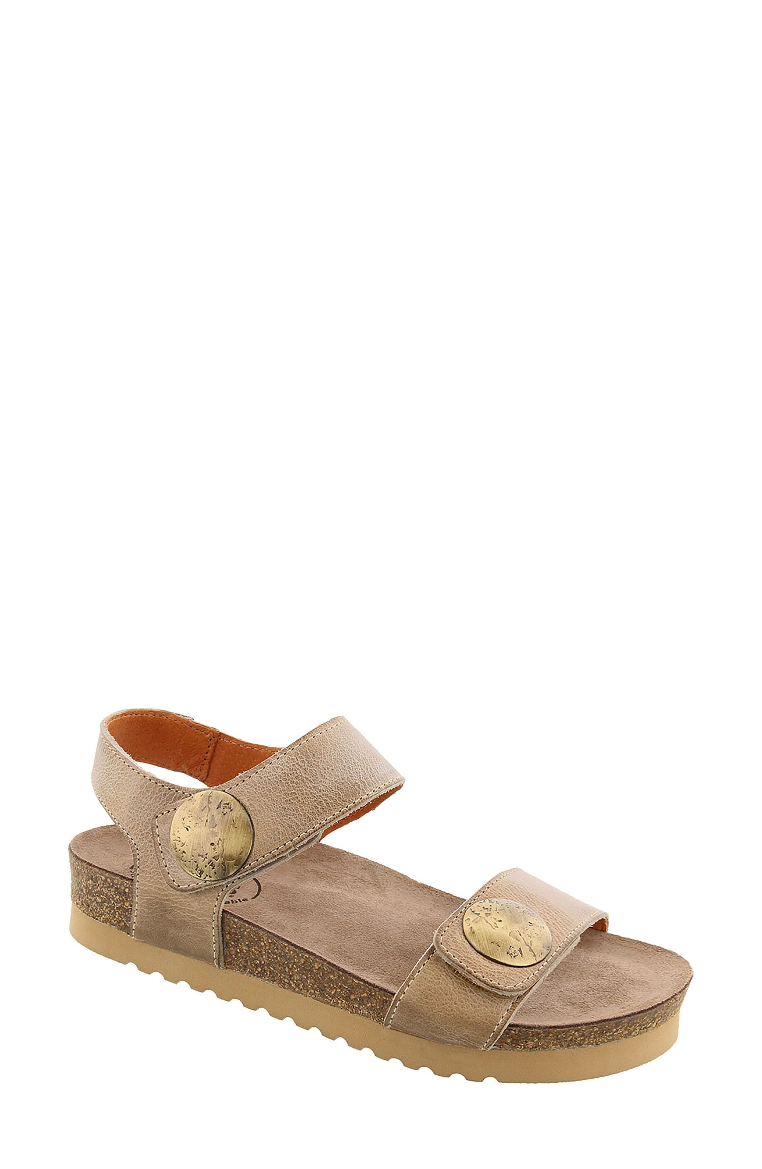 Luckie Sandal,                             Main thumbnail 1, color,                             Taupe Leather