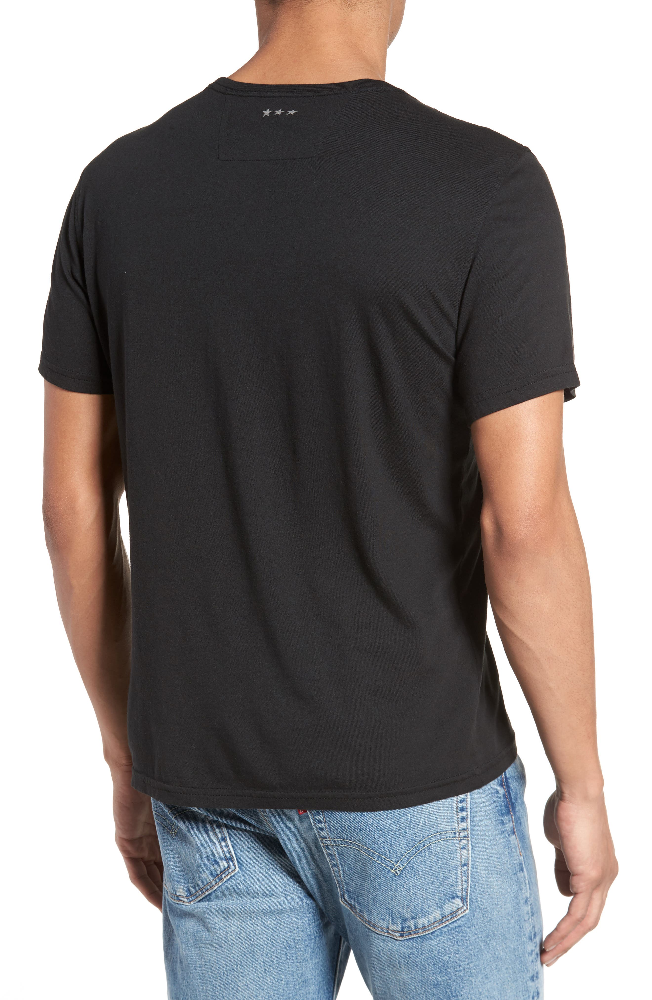 Alternate Image 2  - John Varvatos Star USA Liberty Wings Graphic T-Shirt