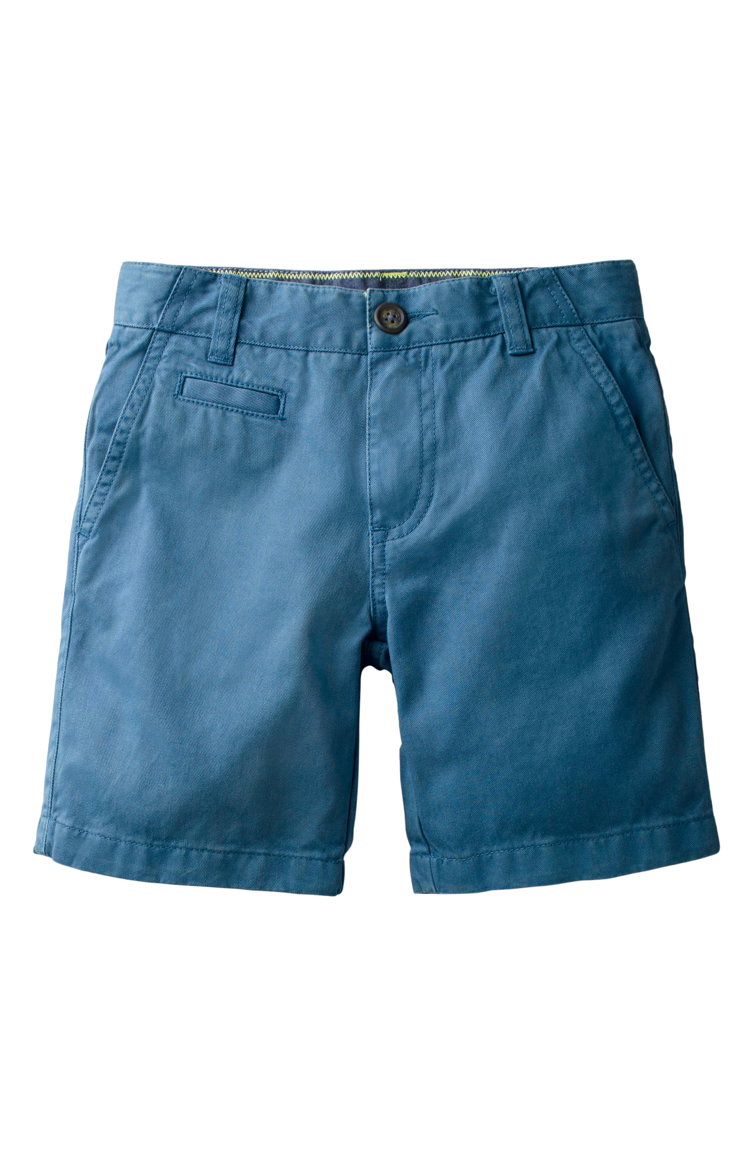 Chino Shorts,                         Main,                         color, Schooner Blue