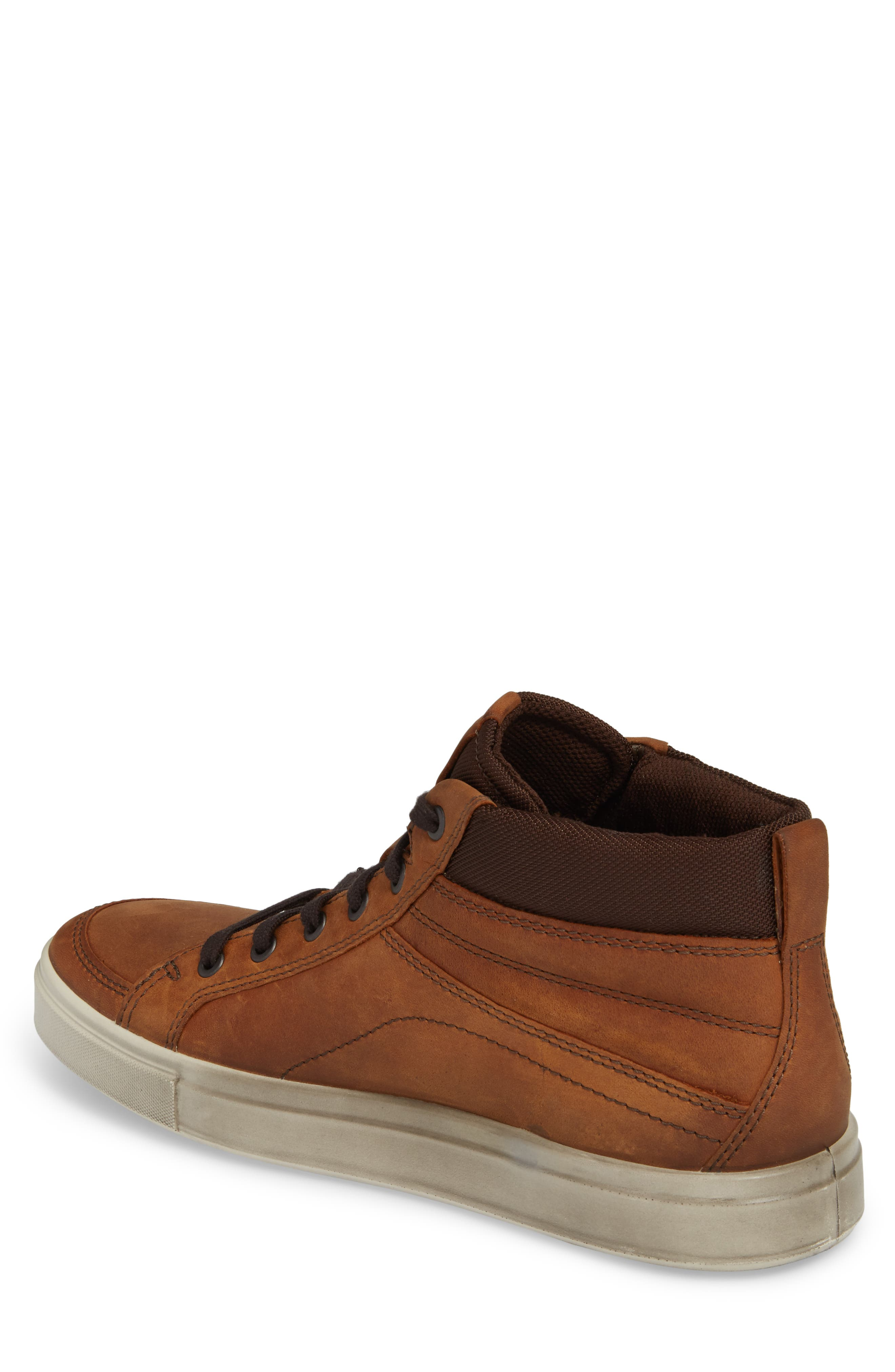 Kyle Sneaker,                             Alternate thumbnail 2, color,                             Amber Leather