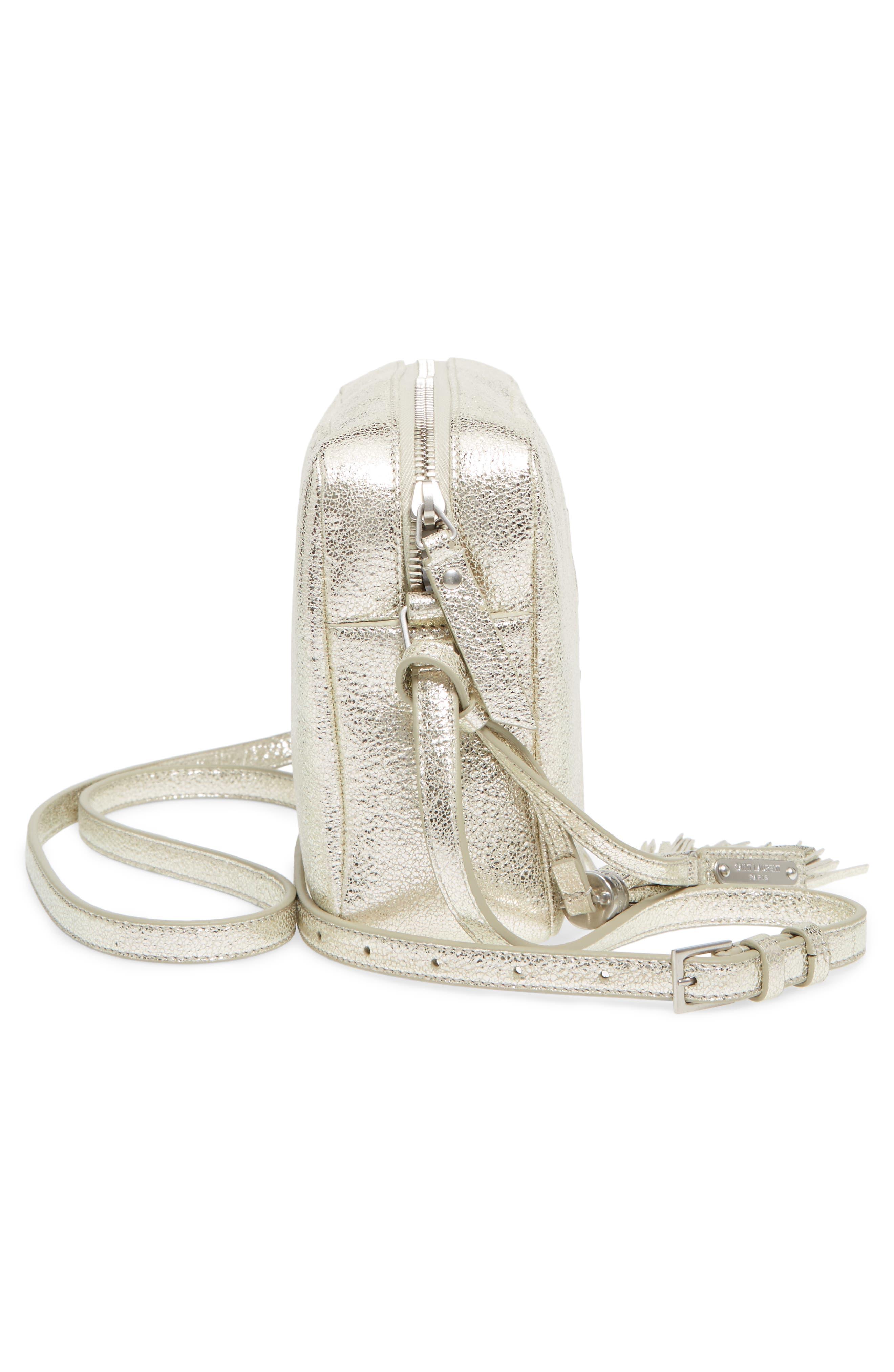 Alternate Image 5  - Saint Laurent Medium Lou Leather Camera Bag
