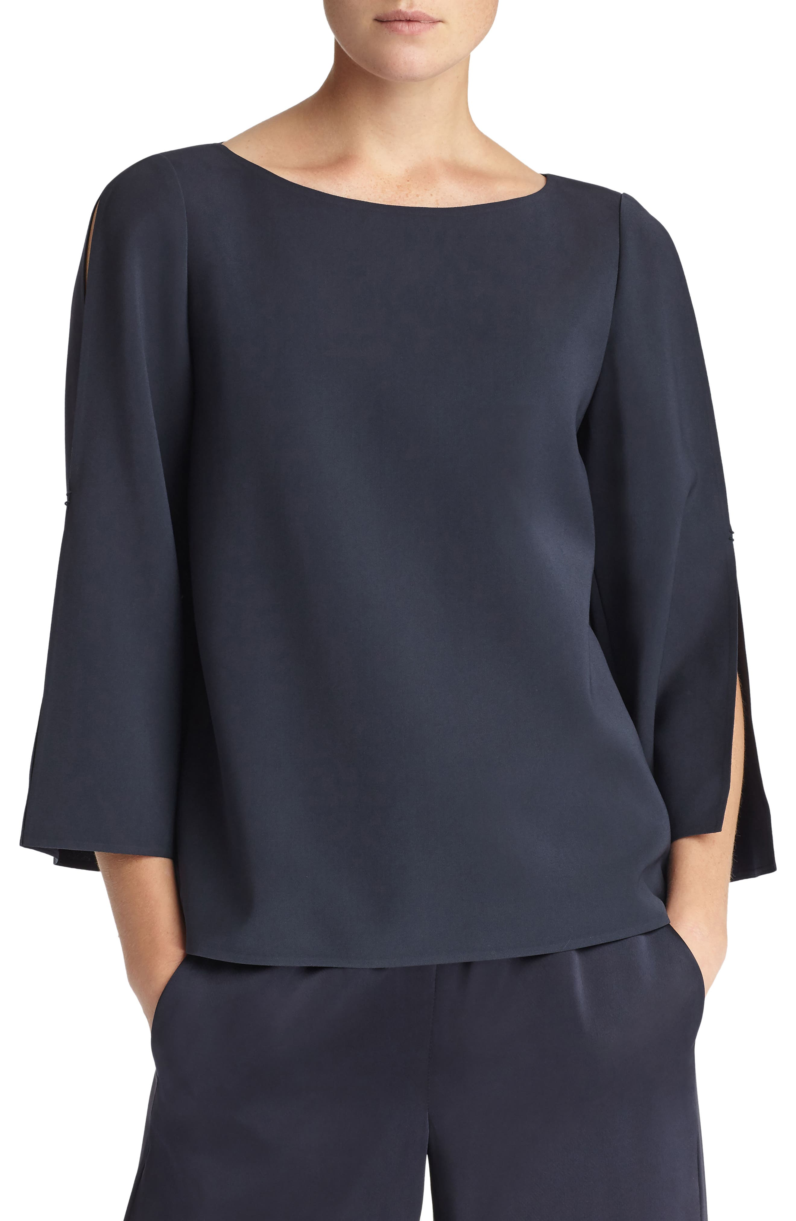Candace Blouse,                         Main,                         color, Ink