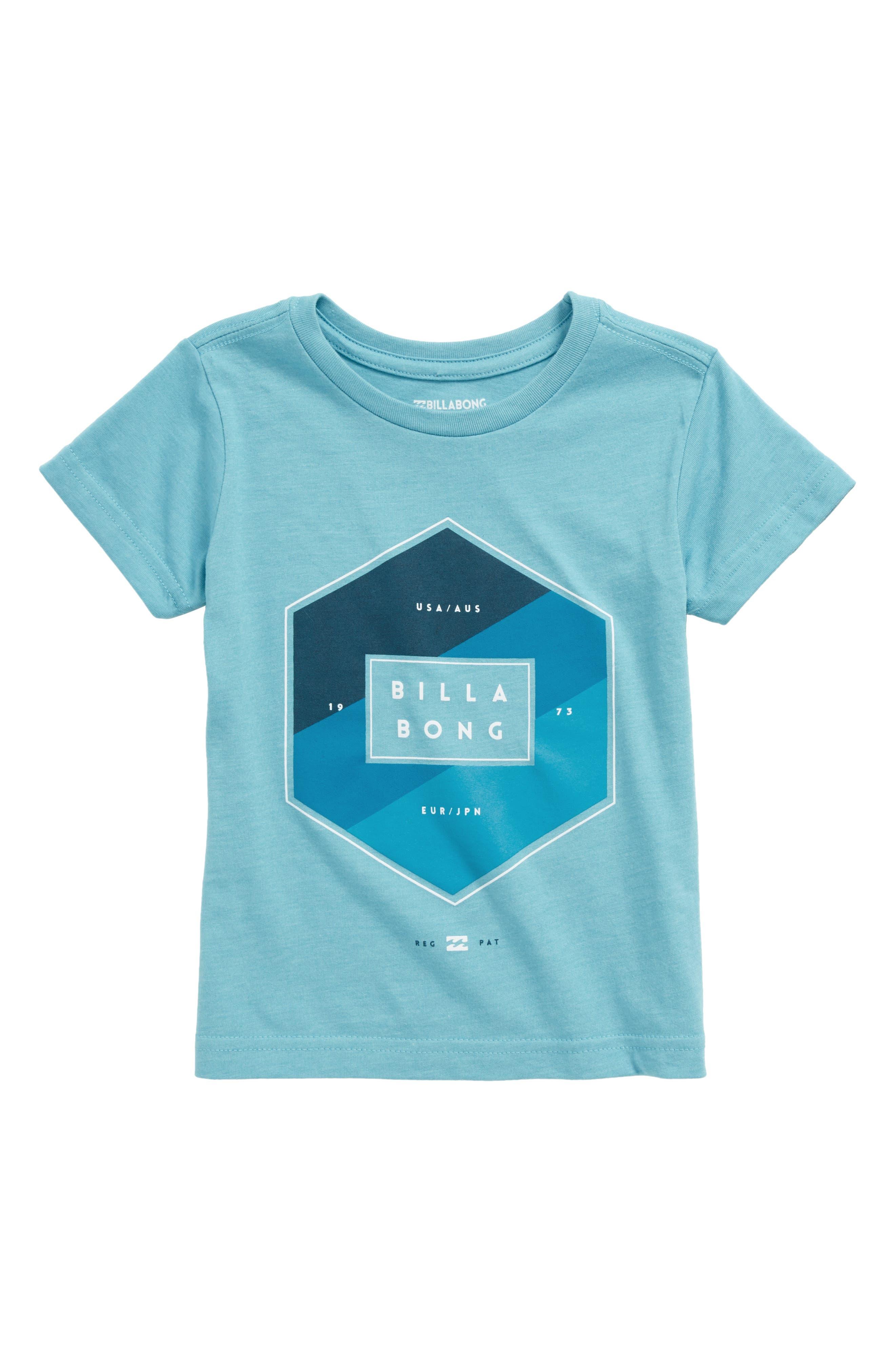 Access Graphic T-Shirt,                         Main,                         color, Aqua Heather