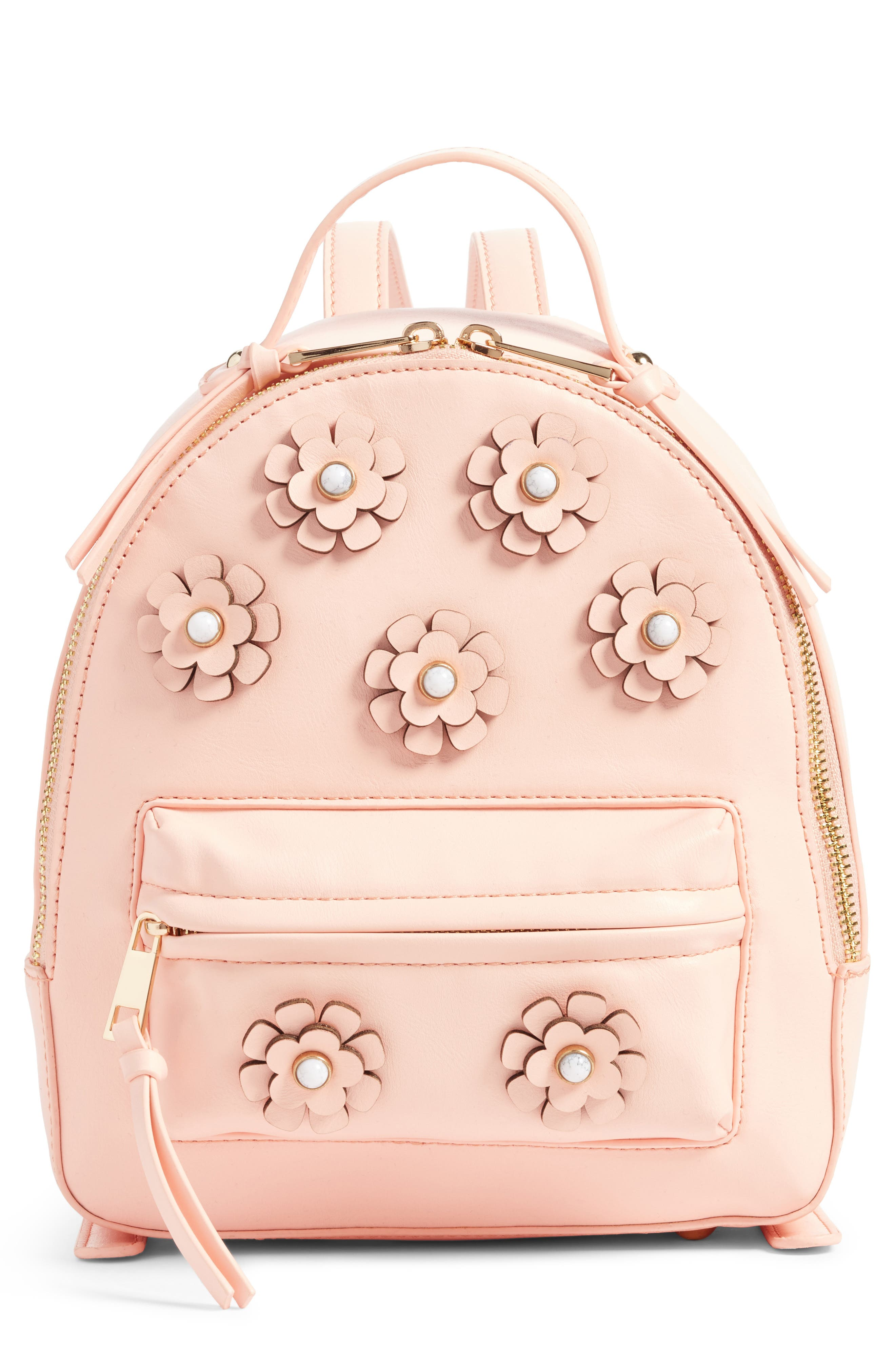 Payette Floral Backpack,                         Main,                         color, Blush