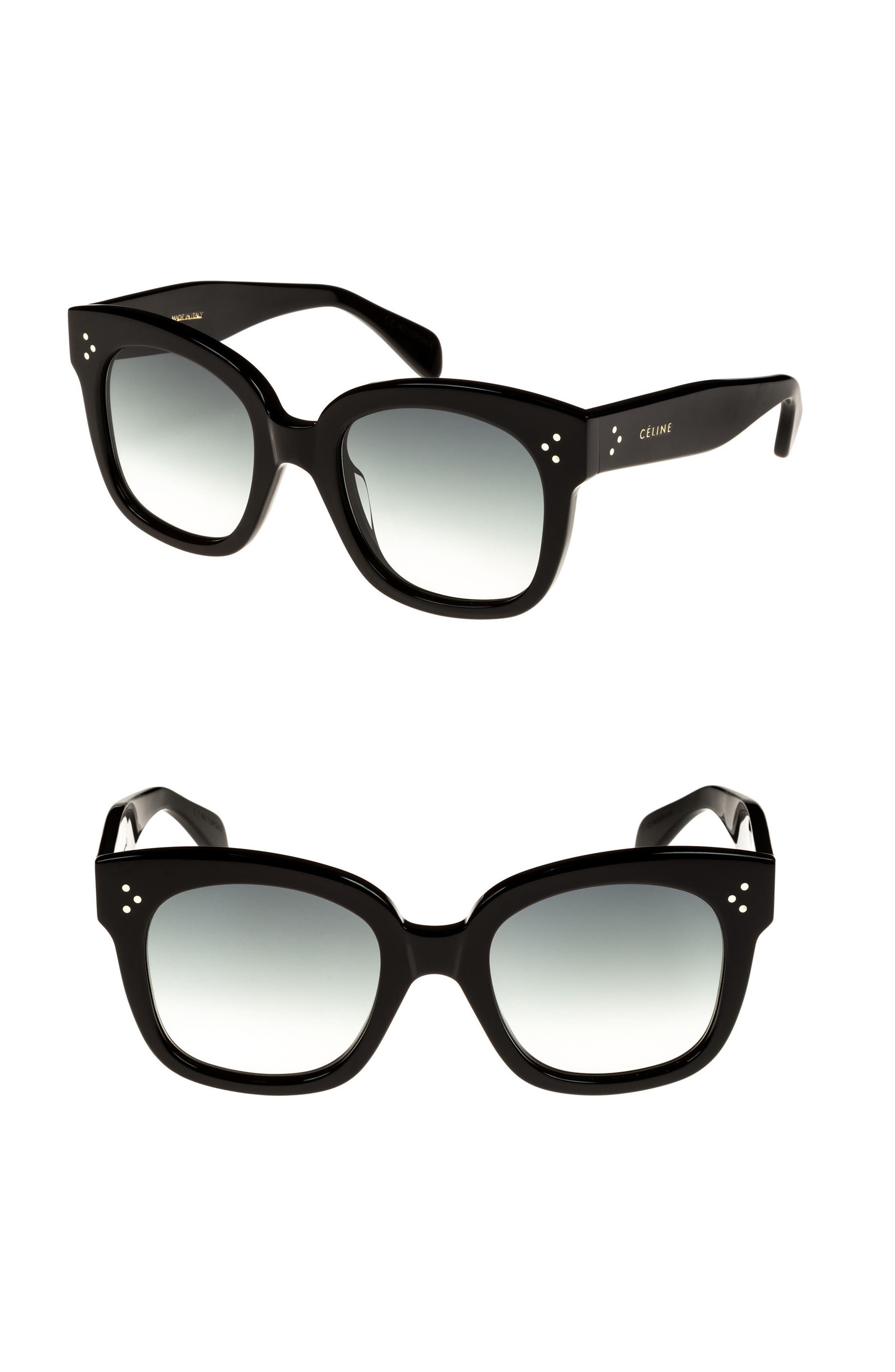 Céline 54mm Square Sunglasses