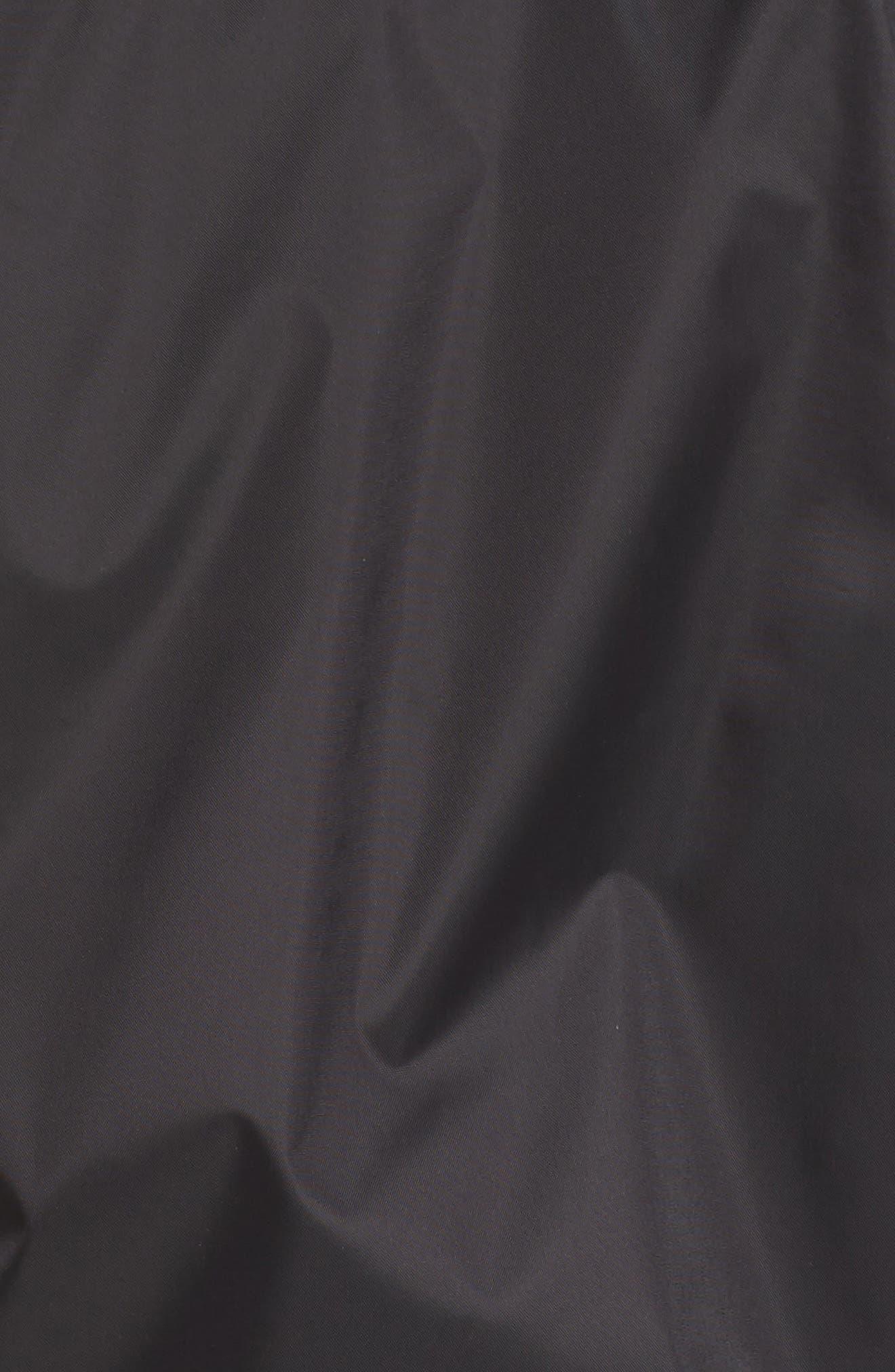 Precita Rain Jacket,                             Alternate thumbnail 6, color,                             Tnf Black