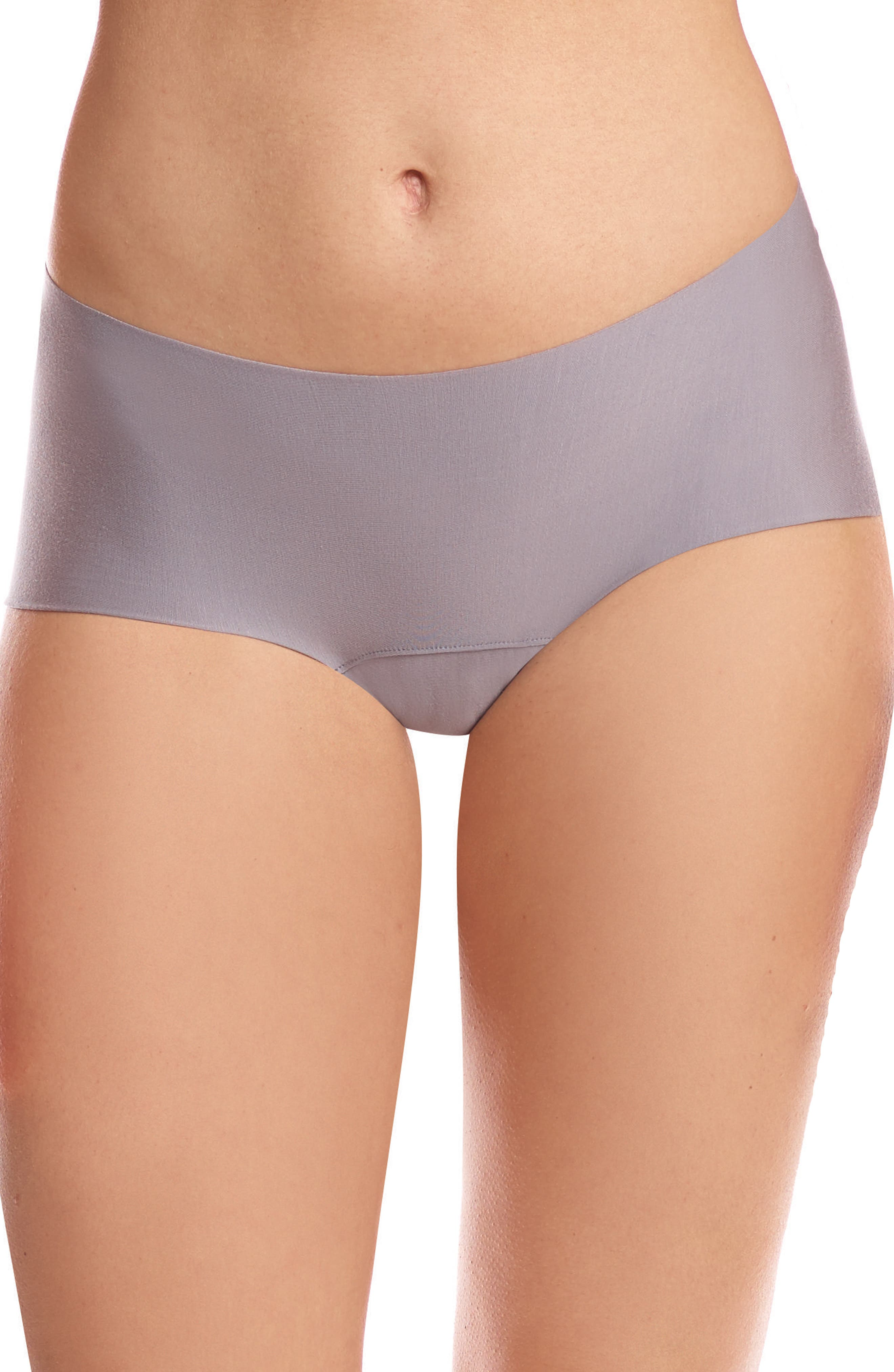Butter Seamless Hipster Panties,                         Main,                         color, Stone