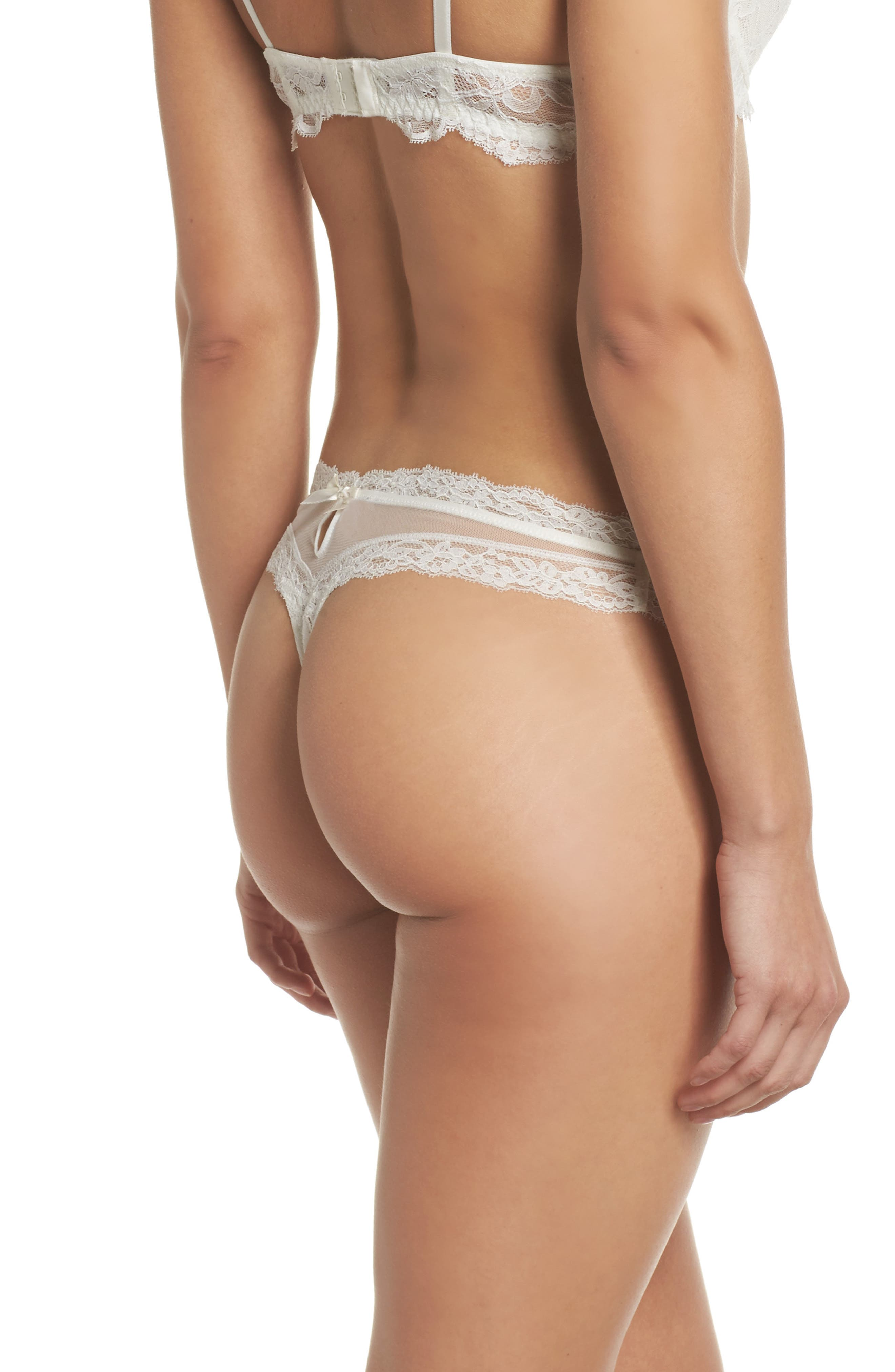Exception Charme Thong,                             Alternate thumbnail 2, color,                             Nacre