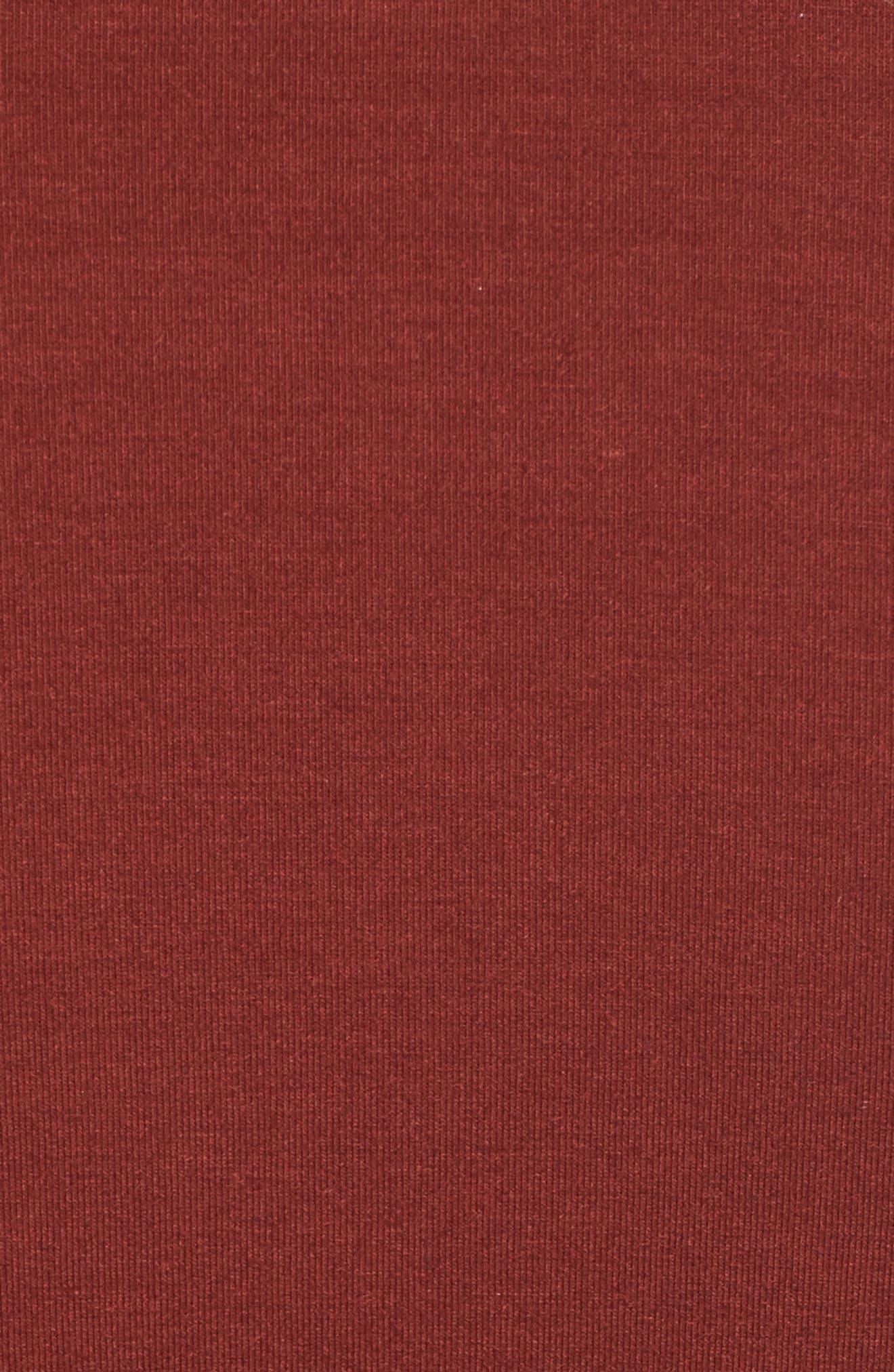 Alternate Image 5  - Treasure & Bond Ruched Jersey Knit Dress