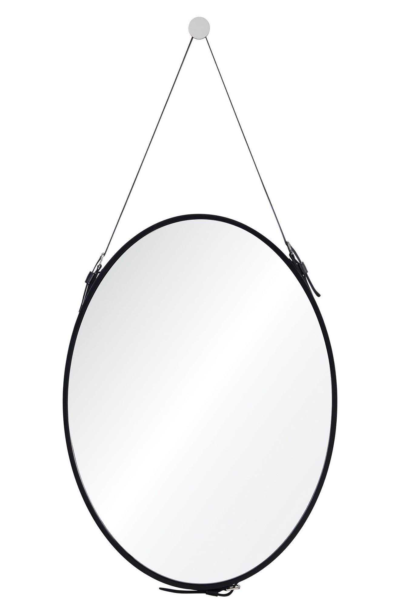 Cordova Mirror,                             Main thumbnail 1, color,                             Black
