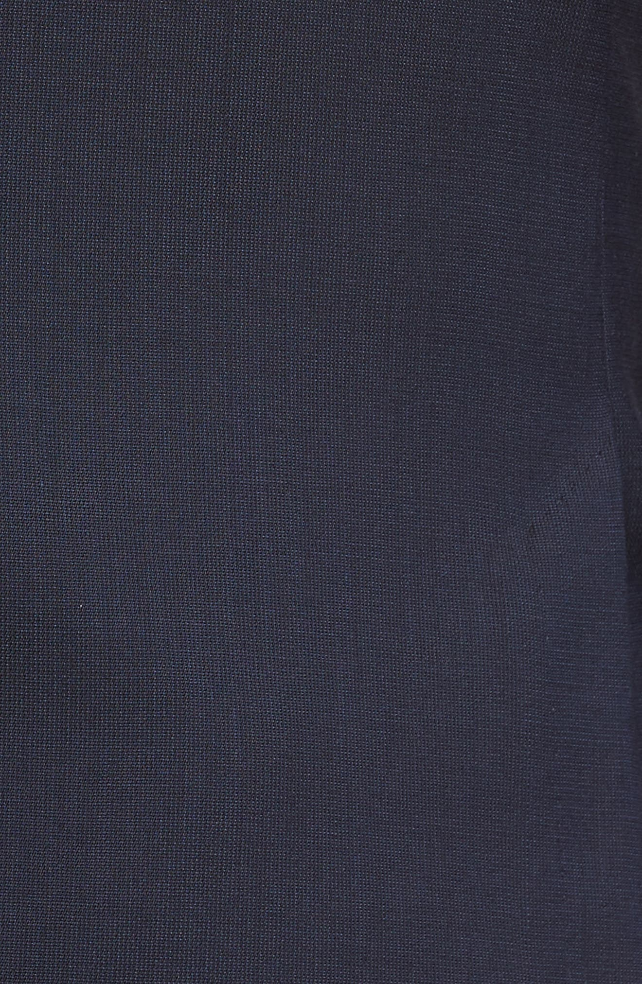 Nylen/Perry Trim Fit Solid Wool Suit,                             Alternate thumbnail 7, color,                             Navy
