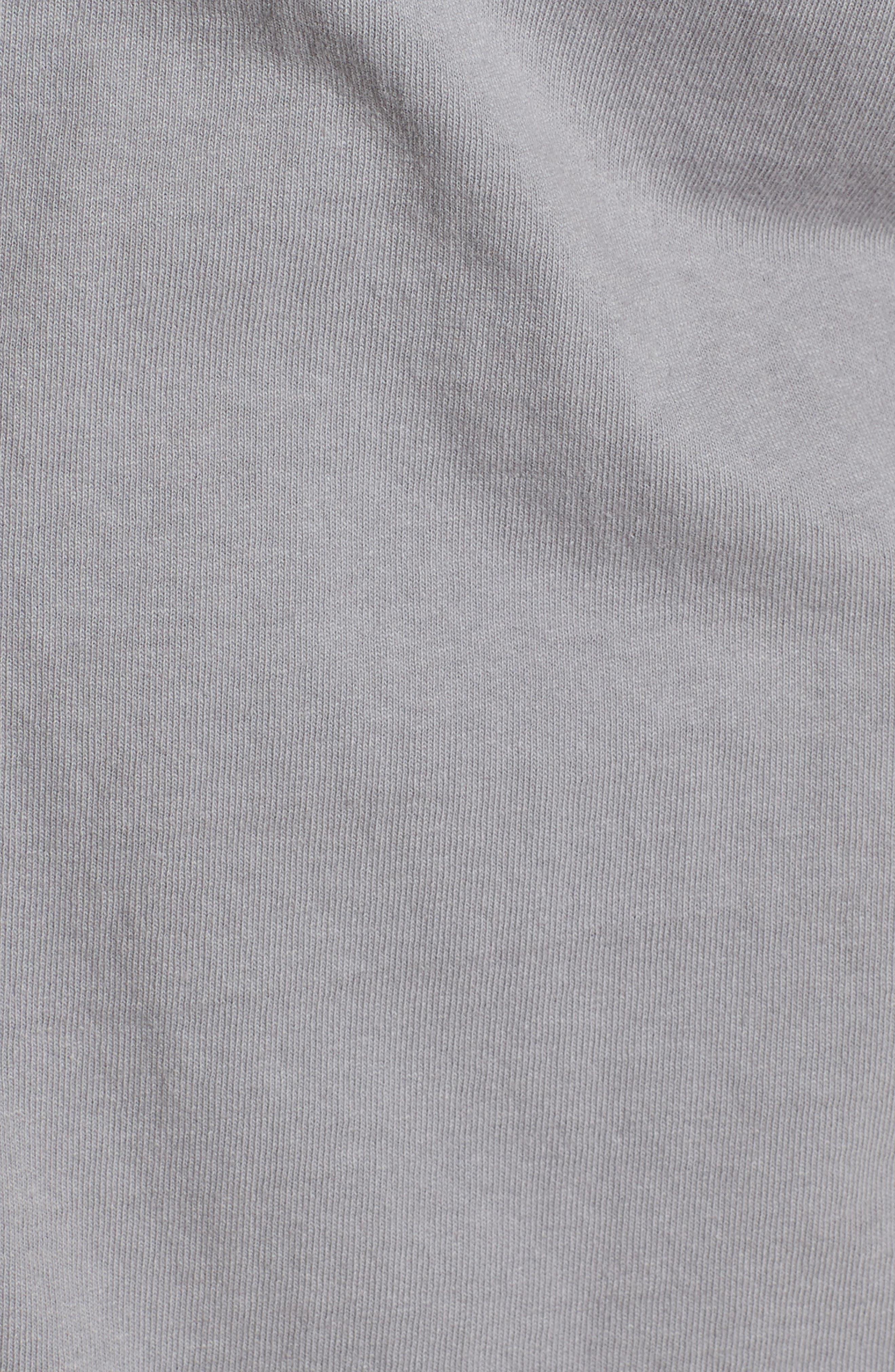 Tee Lab Knit Button Down Shirt,                             Alternate thumbnail 5, color,                             Shadow