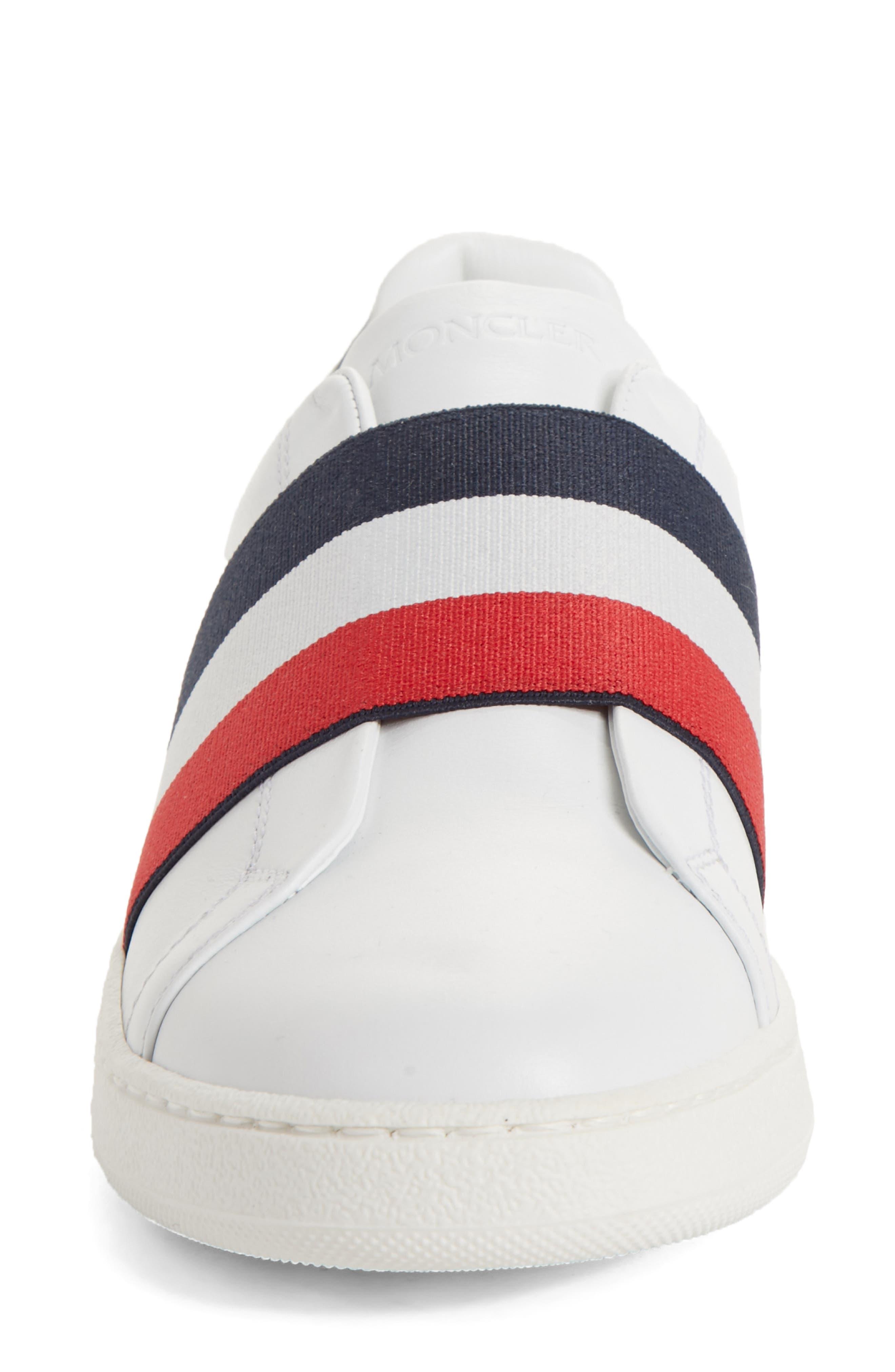 Alizee Low Top Sneaker,                             Alternate thumbnail 4, color,                             White