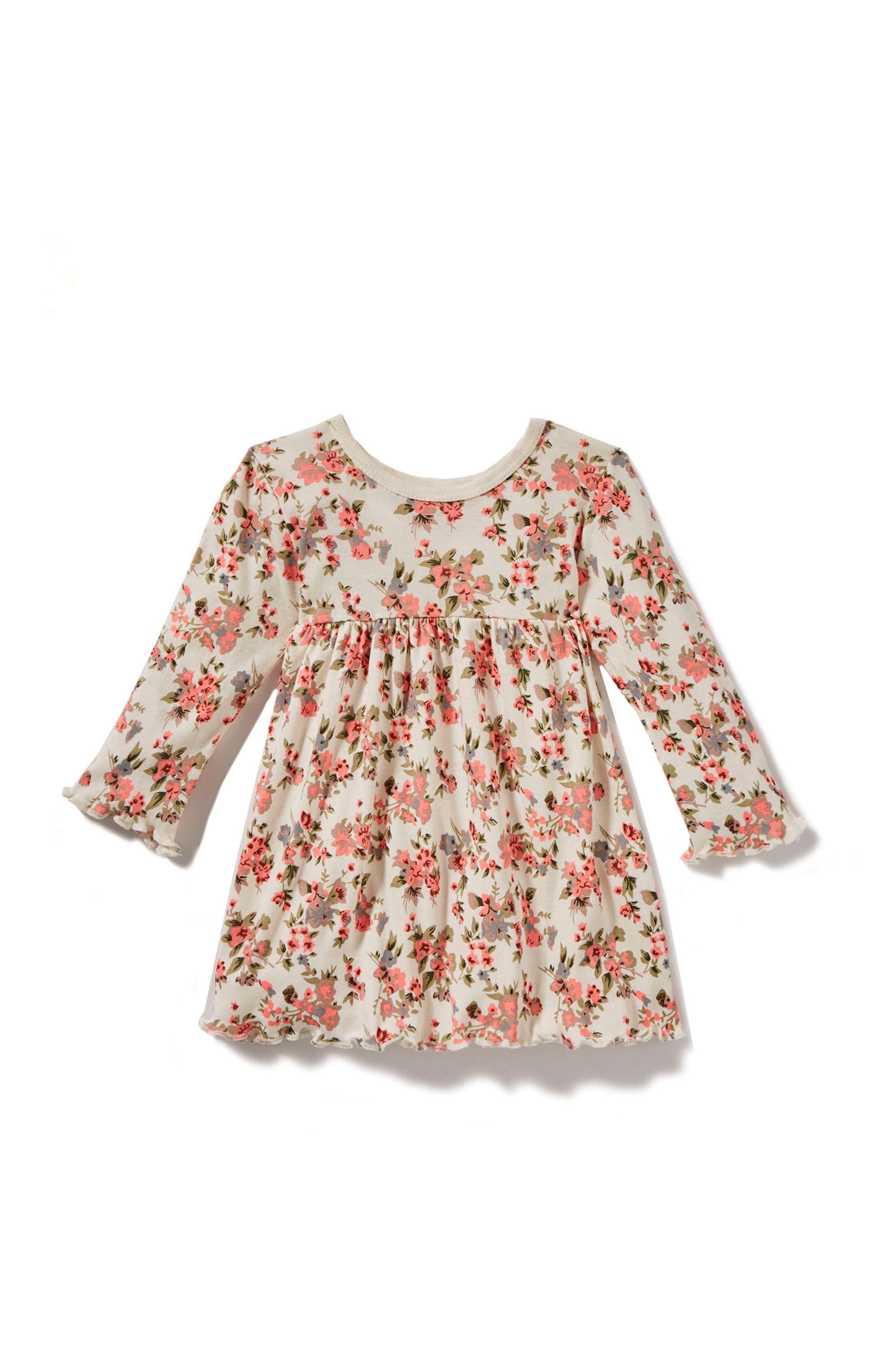 Peek Floral Dress (Baby Girls)