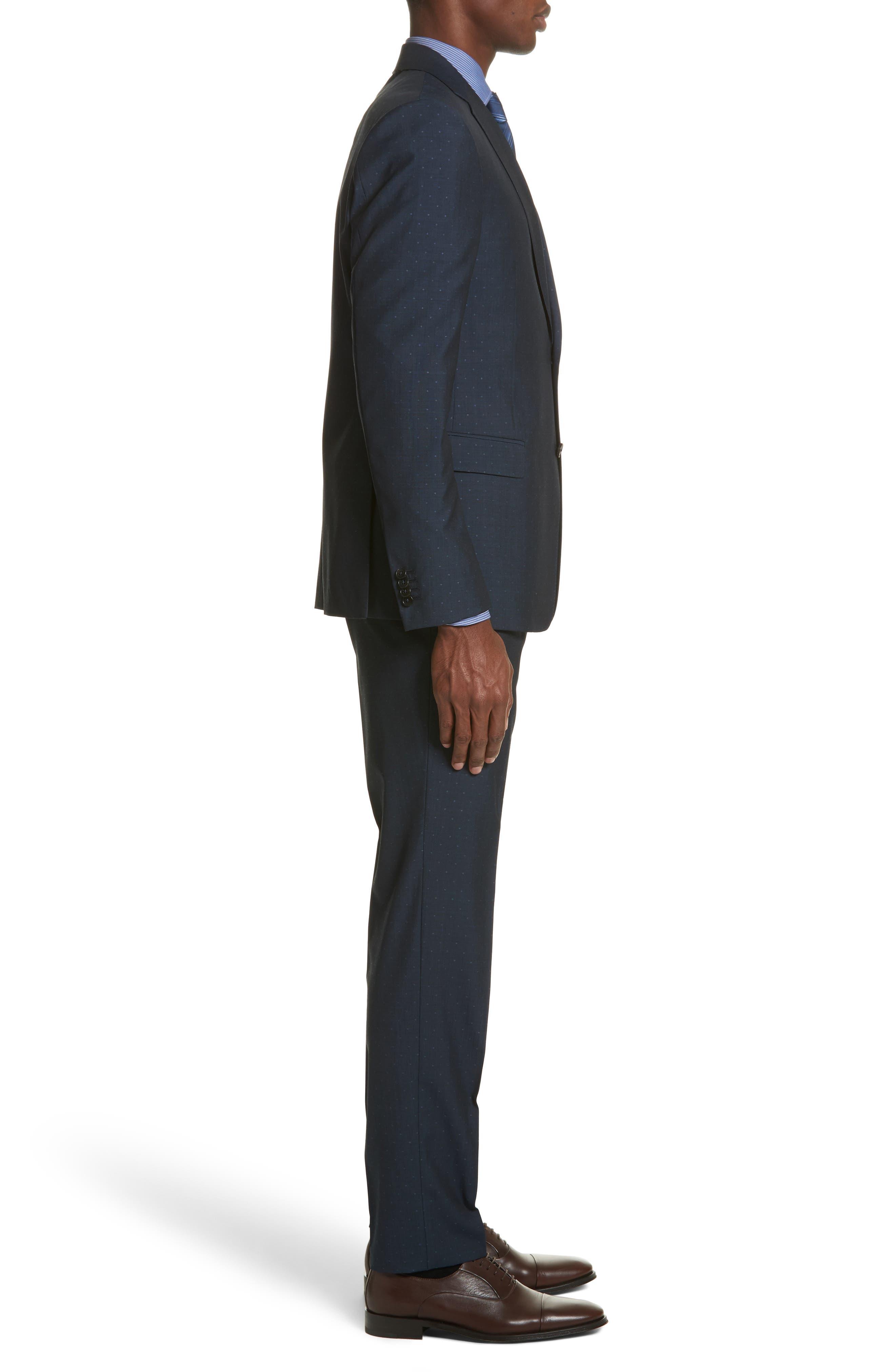 Alternate Image 3  - Z Zegna Classic Fit Dot Wool Suit