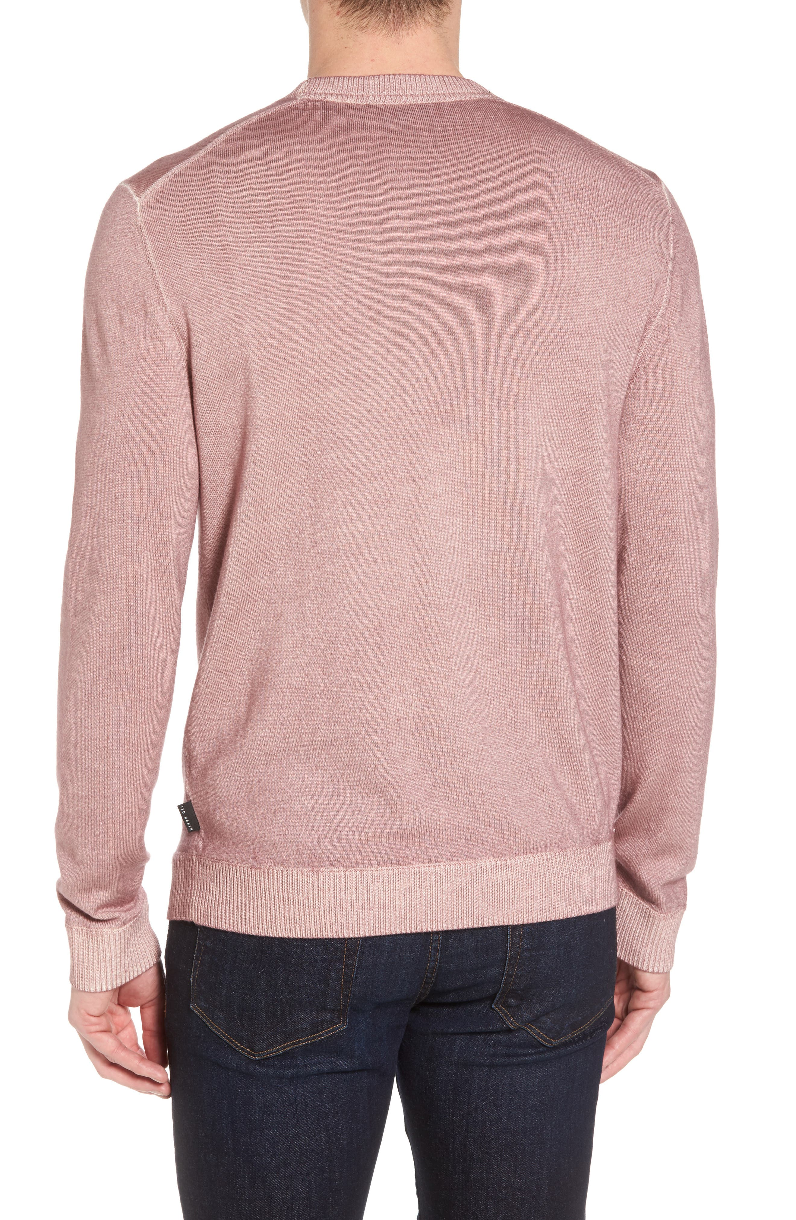 Alternate Image 2  - Ted Baker London Lucky Trim Fit Wool Sweater