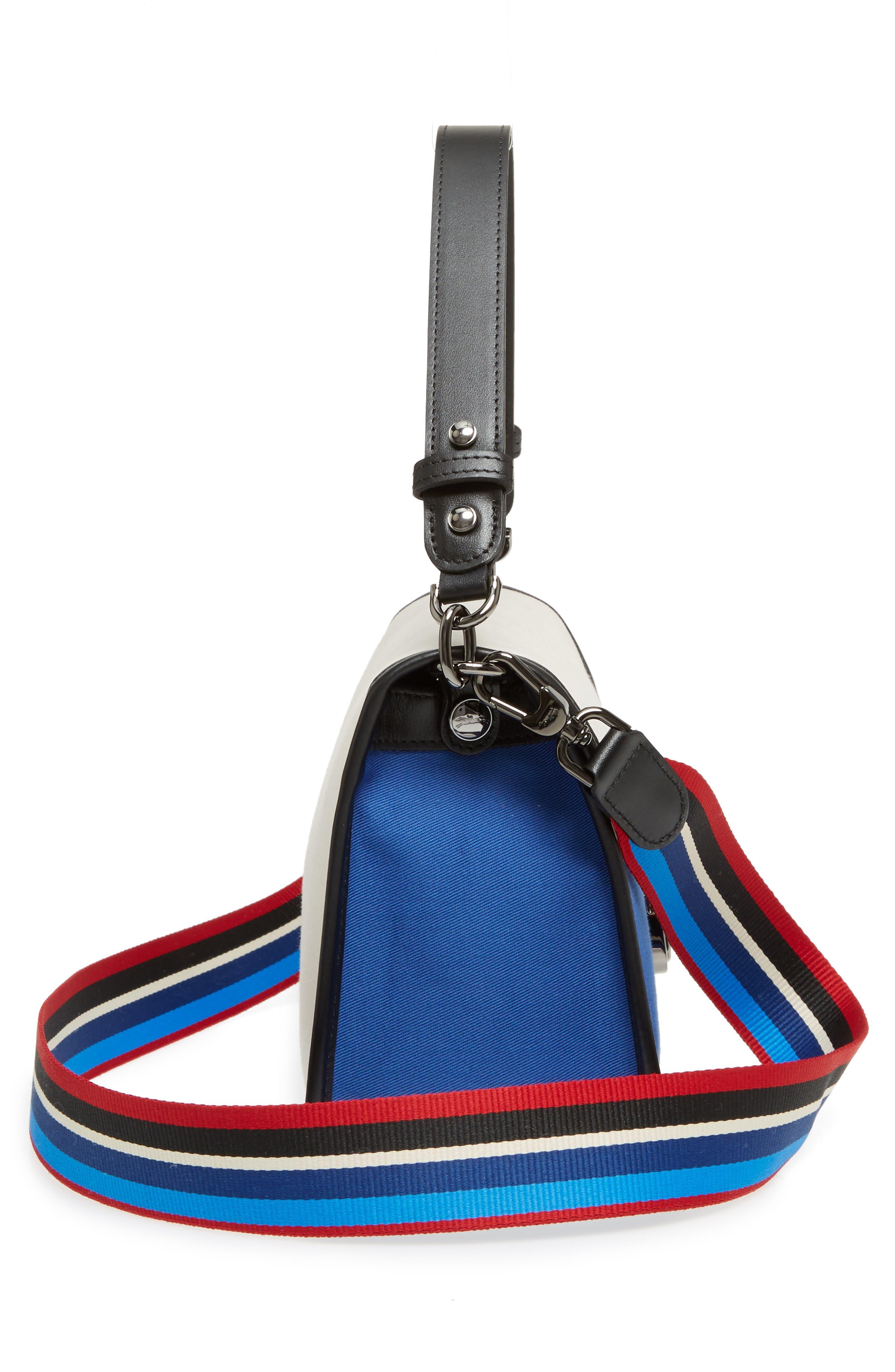 Alternate Image 4  - Longchamp Mademoiselle Gabardine Canvas Shoulder Bag