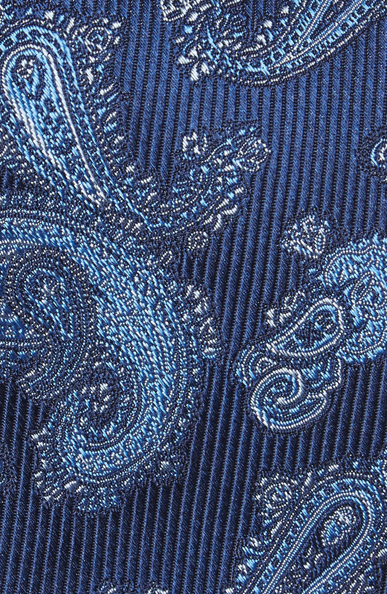 Alternate Image 2  - Nordstrom Men's Shop Paisley Silk Tie