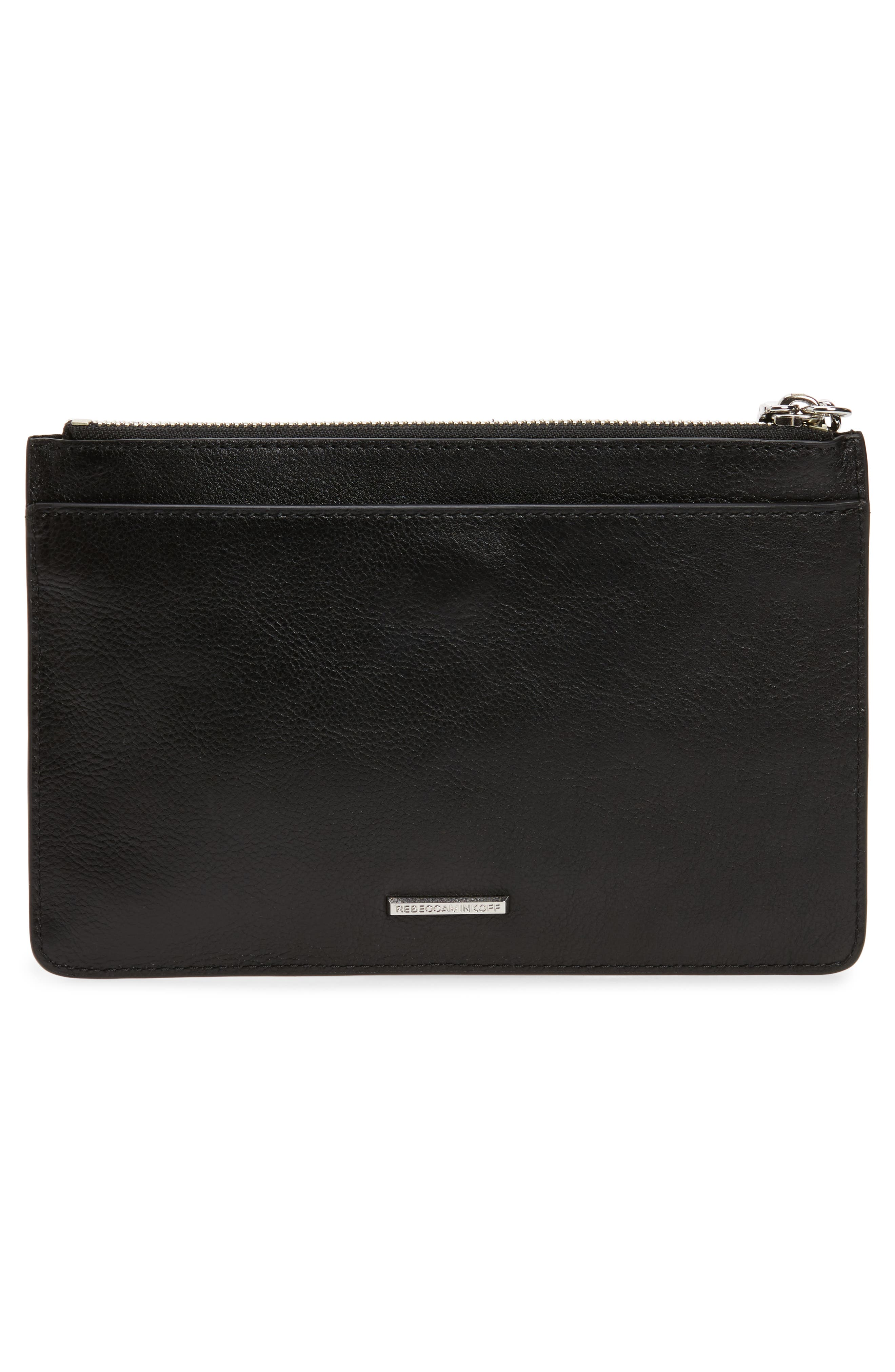 Alternate Image 3  - Rebecca Minkoff Leather Wristlet Pouch