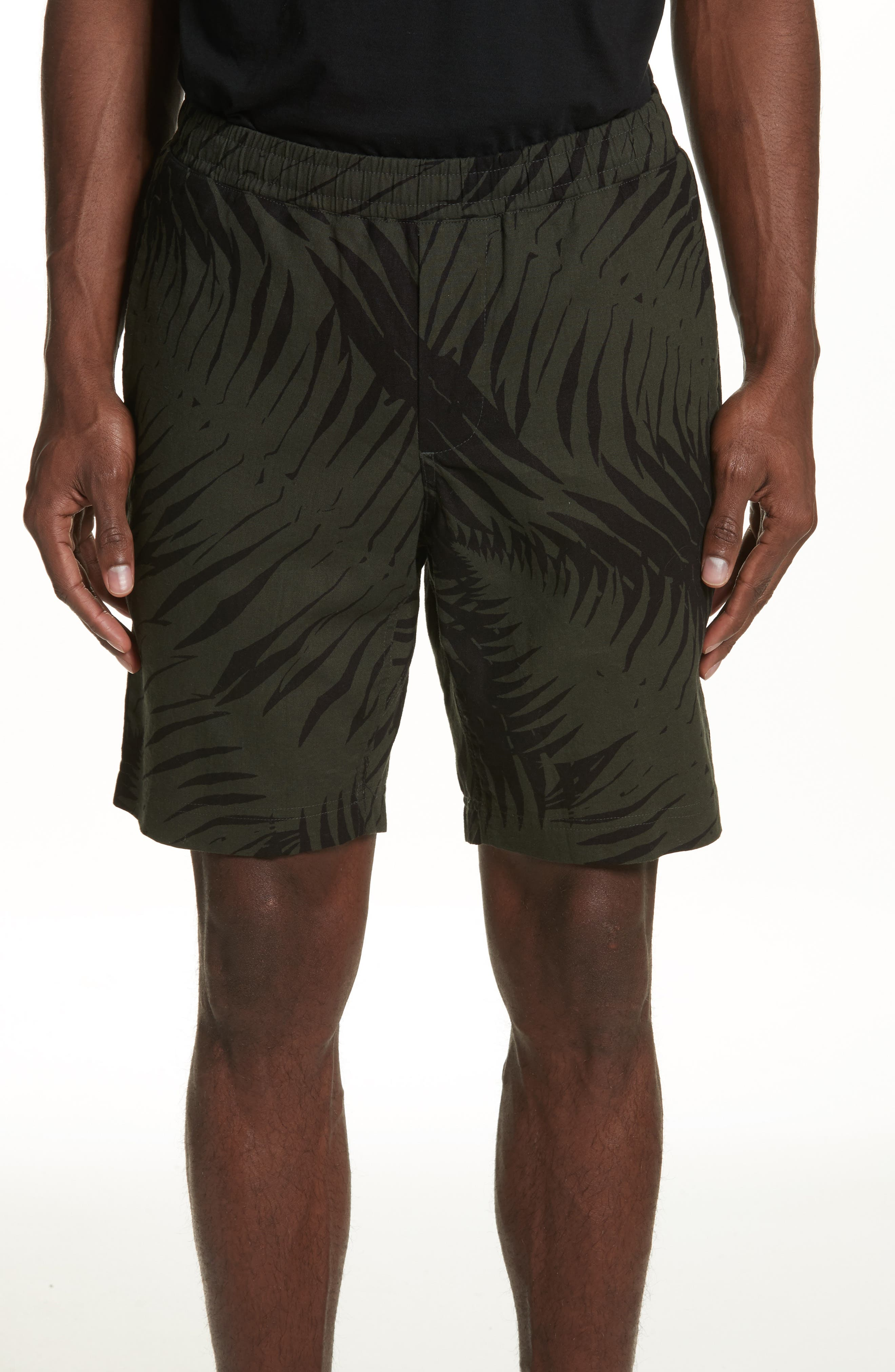 Sword Fern Patrol Shorts,                             Main thumbnail 1, color,                             Jungle Green