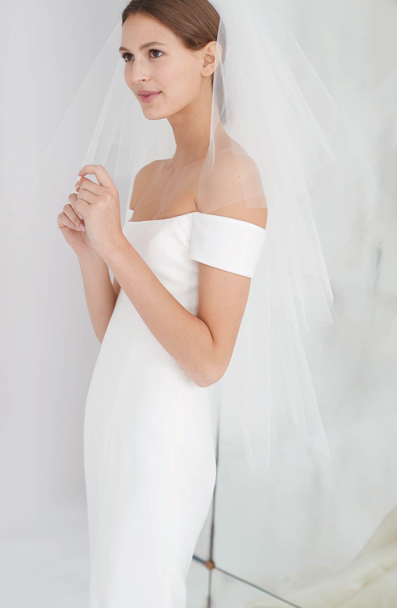 Alternate Image 2  - Carolina Herrera Greta Off the Shoulder Trumpet Gown